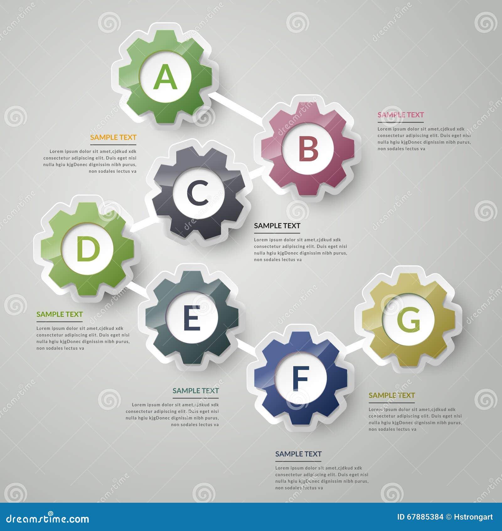 创造性的infographic设计