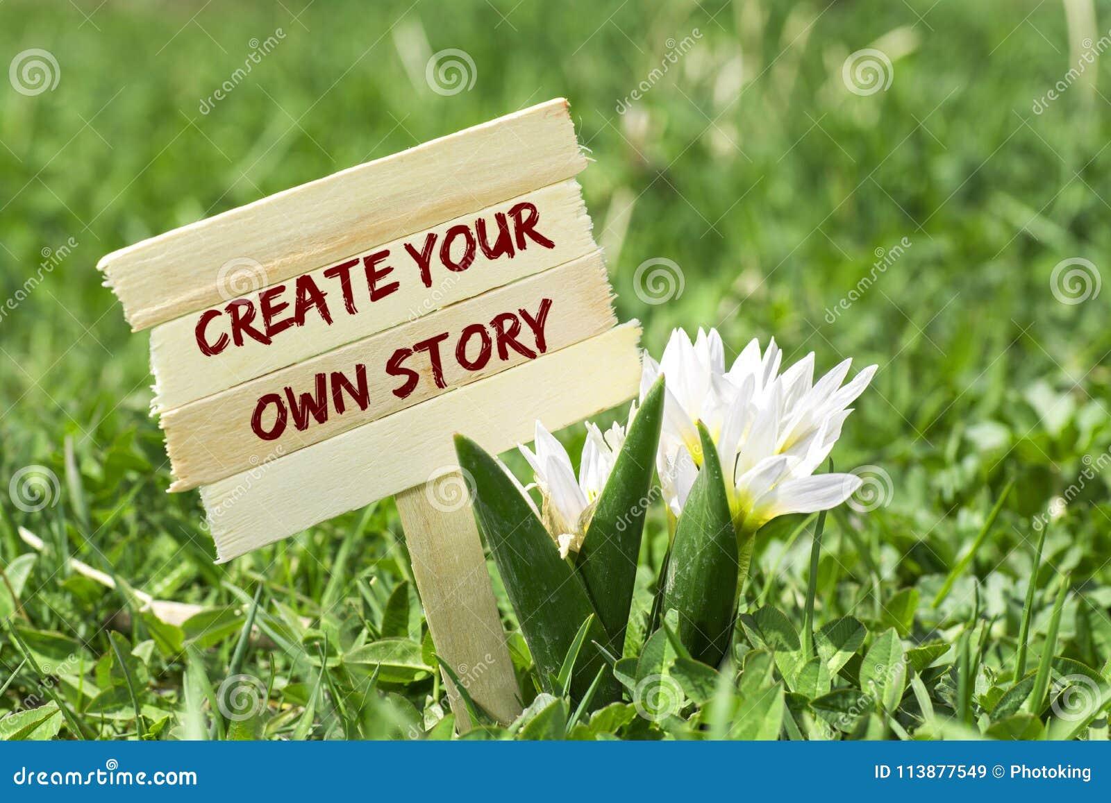 创造您自己的故事