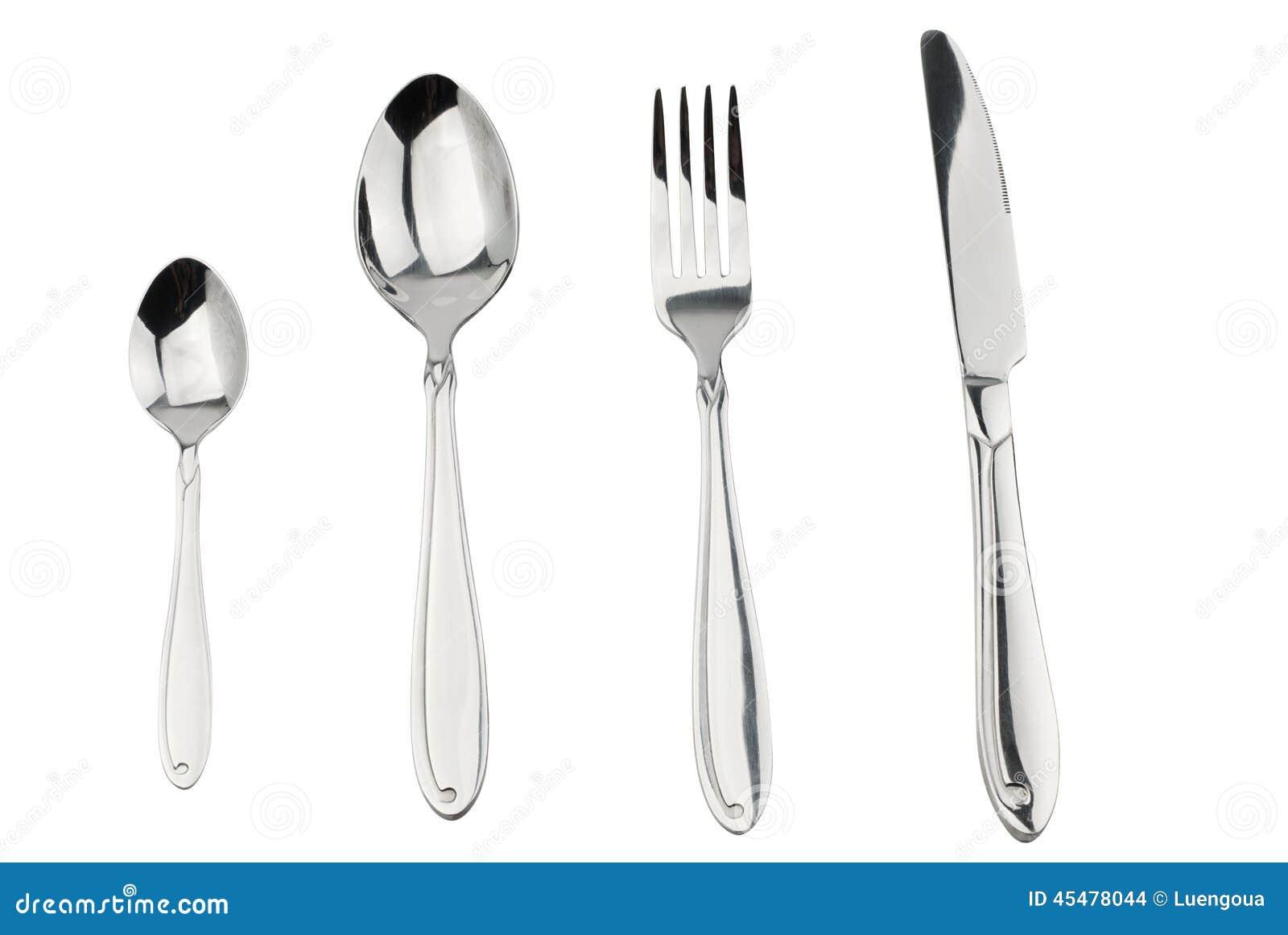 利器设置了与被隔绝的叉子、刀子和匙子