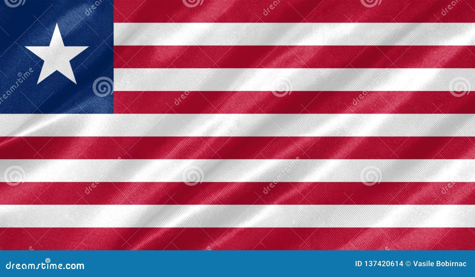 利比里亚旗子