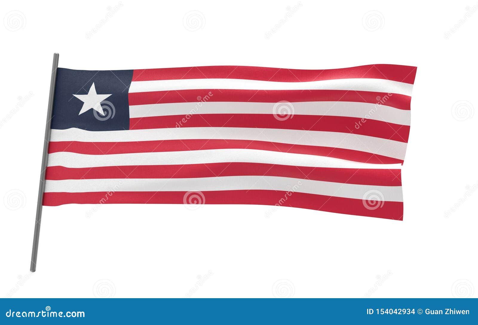 利比里亚的旗子