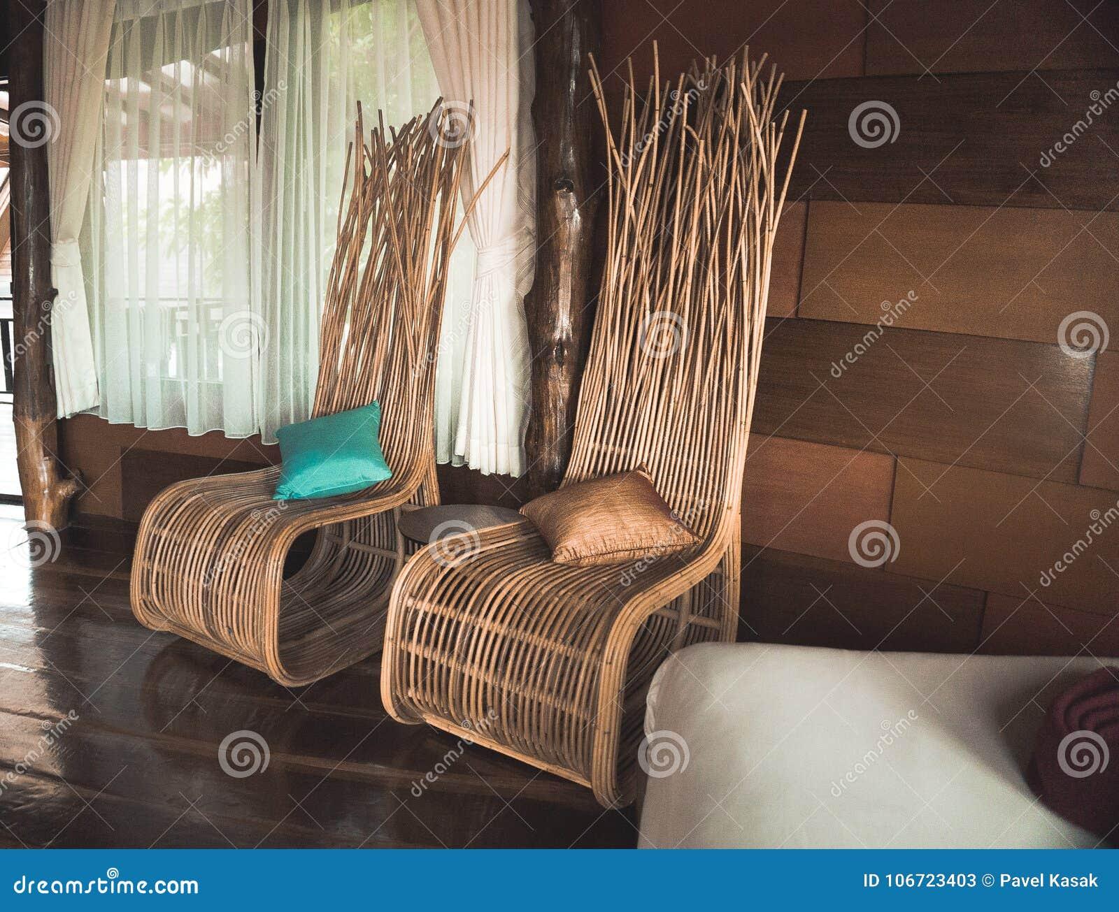 别墅的豪华卧室
