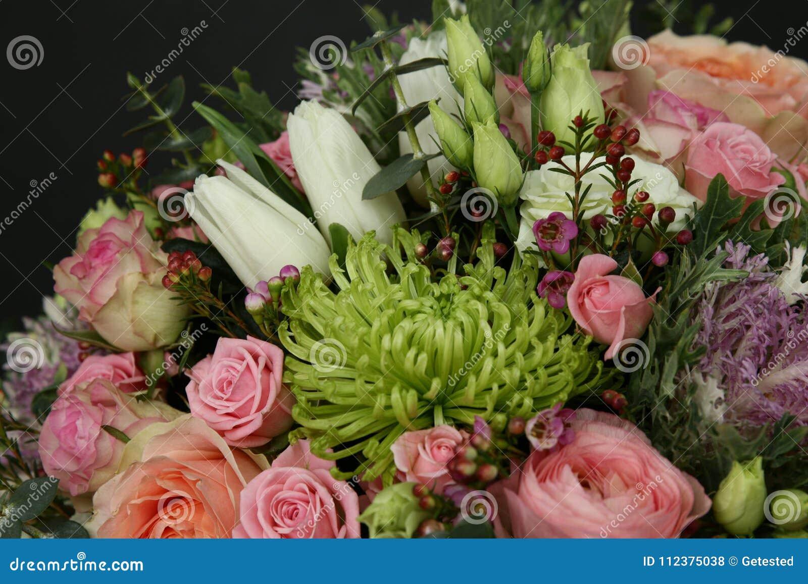 别致的花富有的花束