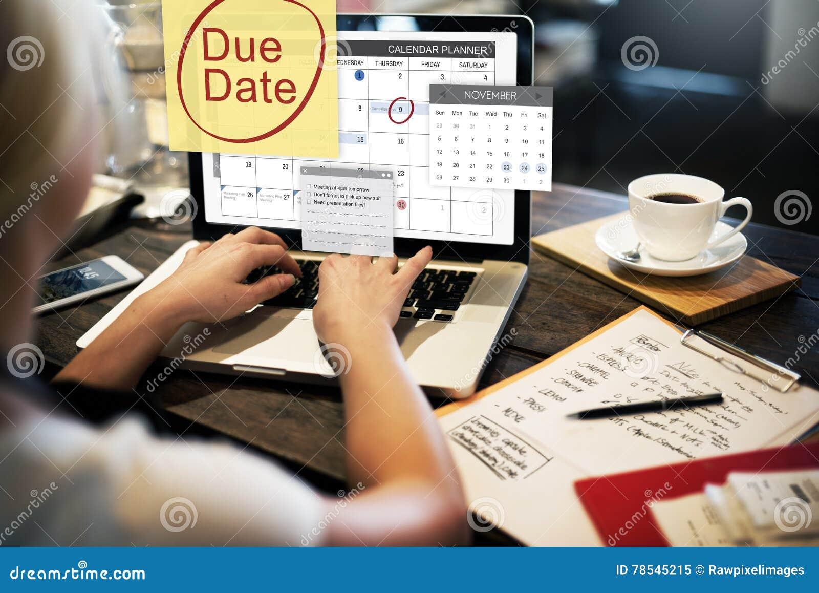到期日最后期限付款单重要通知概念