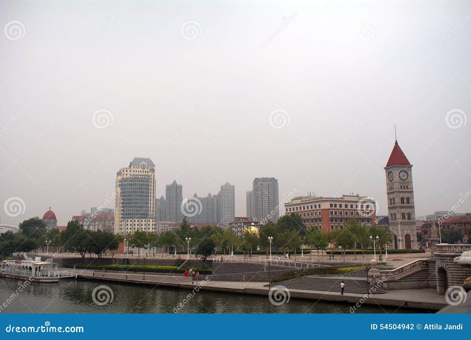 前奥匈帝国让步,天津,中国