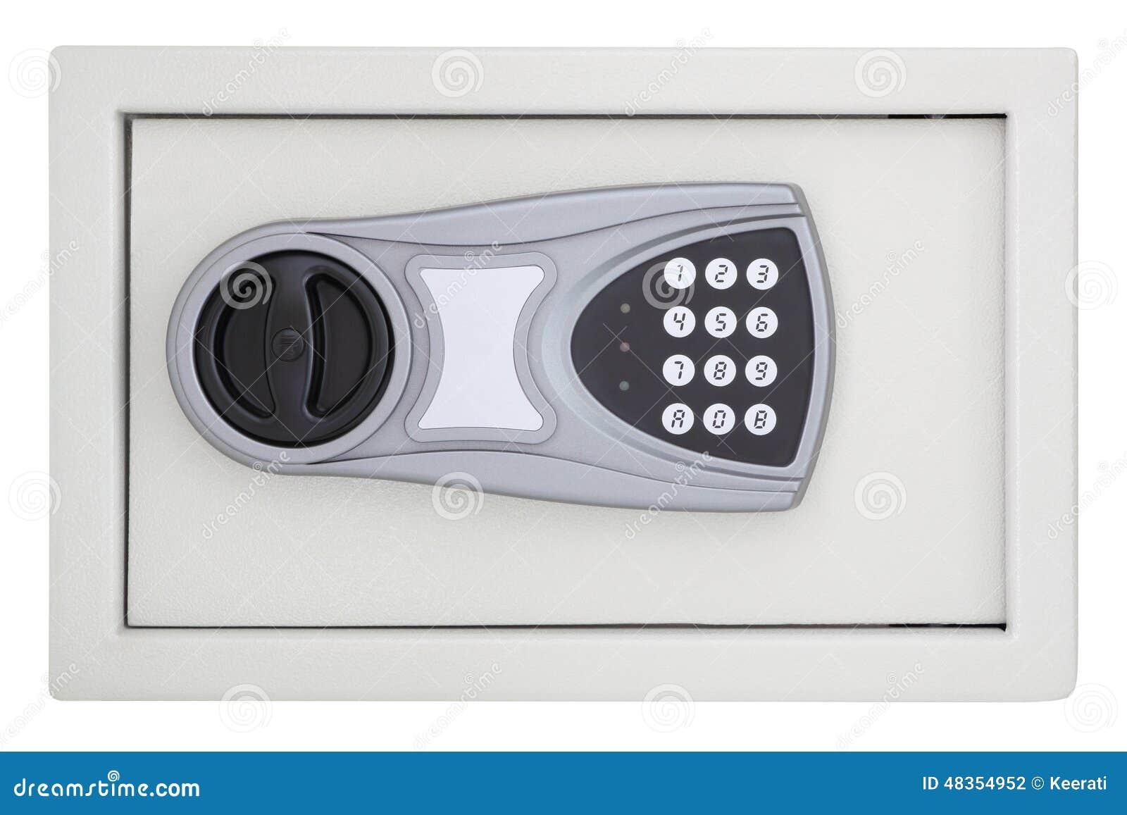 前面数字编码钢安全箱子
