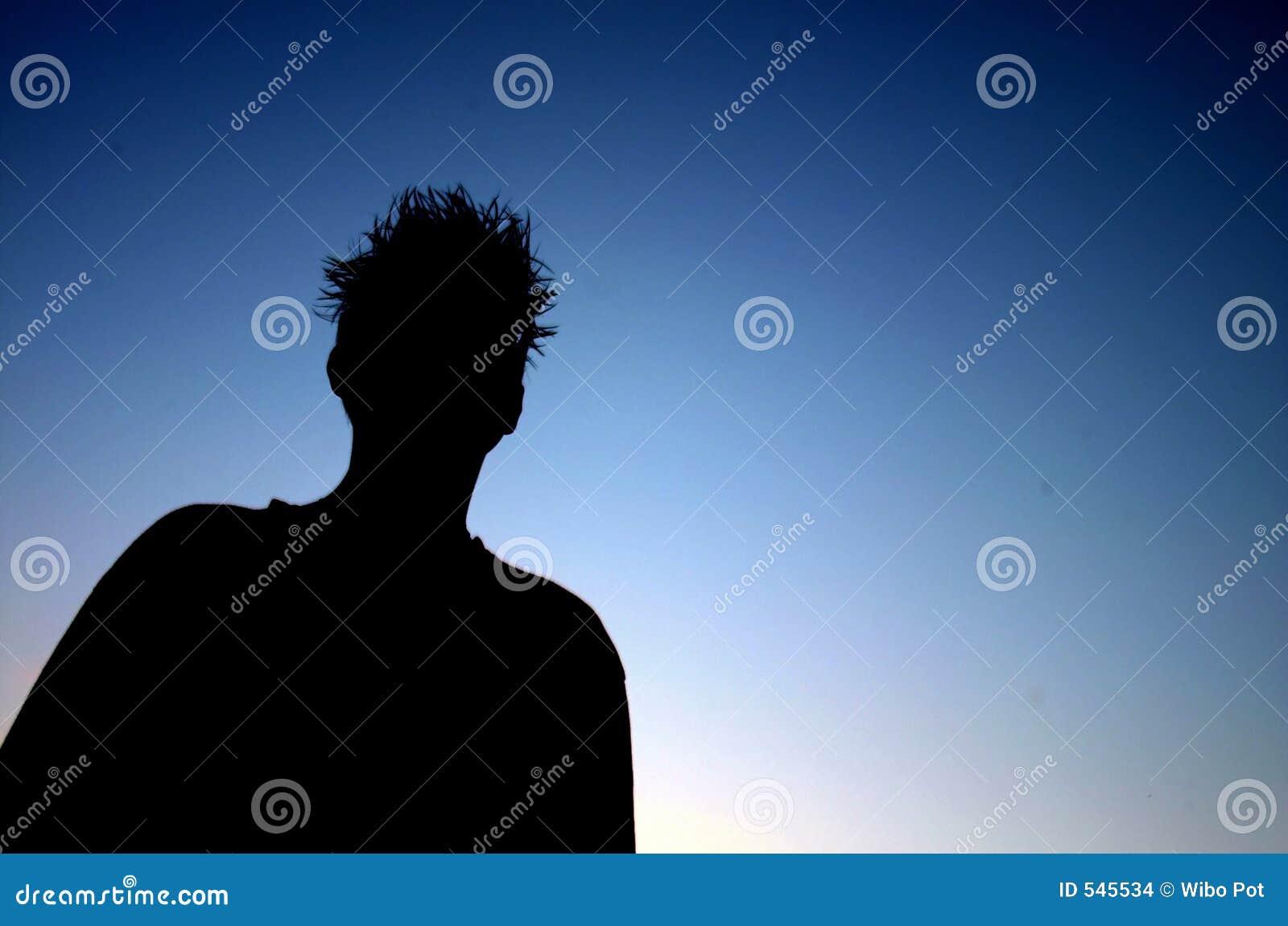 Download 剪影 库存照片. 图片 包括有 天空, 剪影, 影子, 生活方式, 放松, 题头, 蓝色, 背包, 男朋友 - 545534