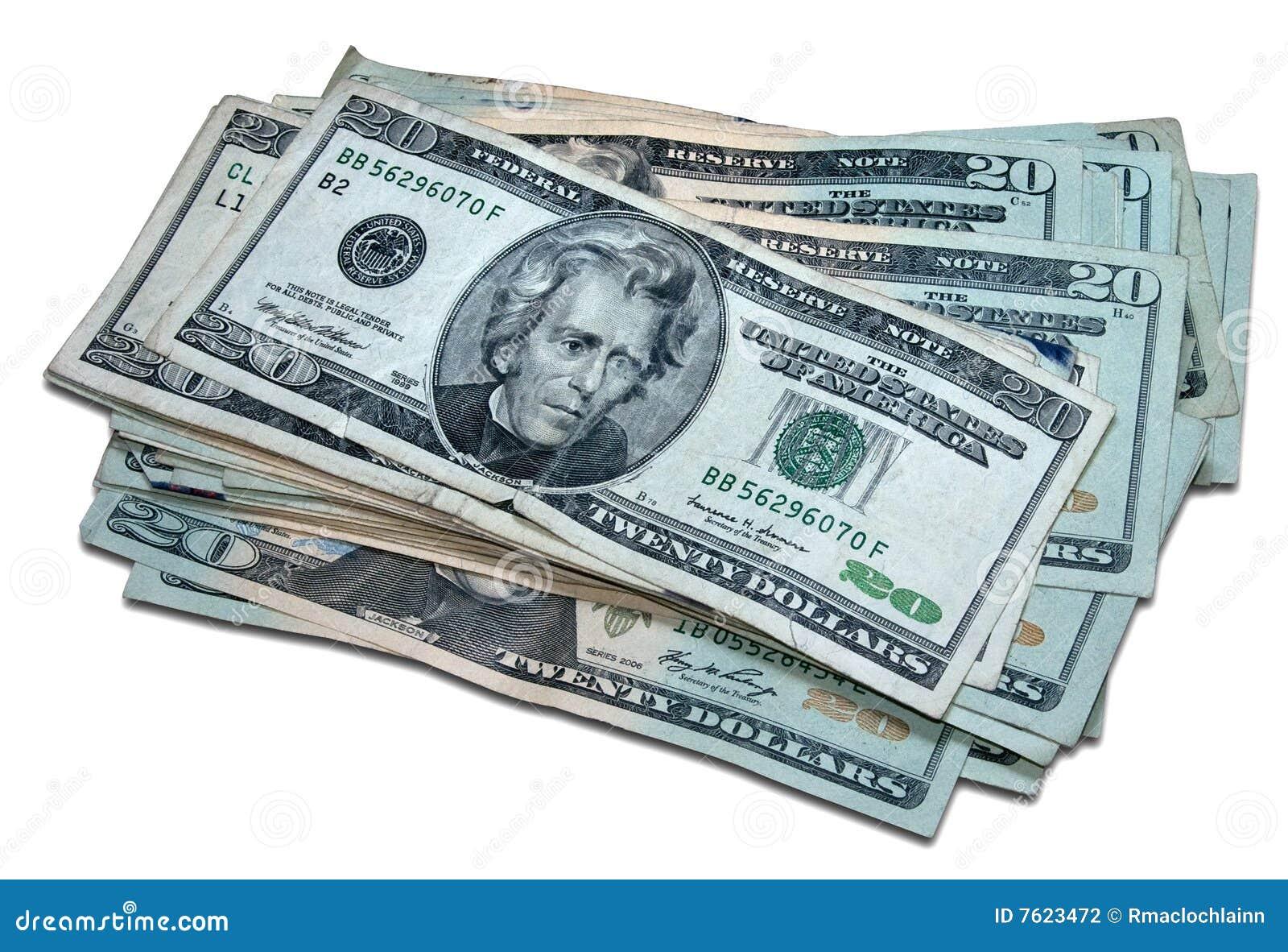 剪报美元一个路径一千