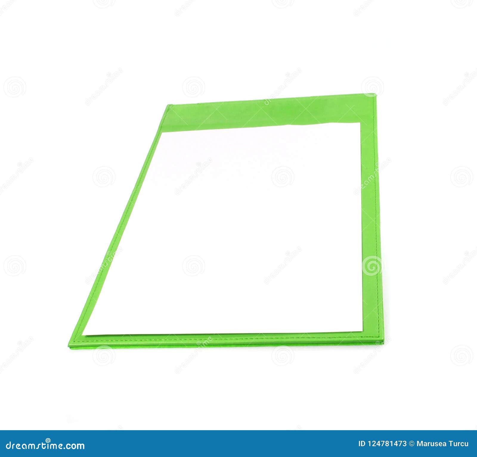 剪贴板绿色查出