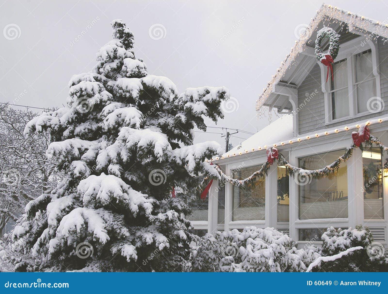 办公室冬天