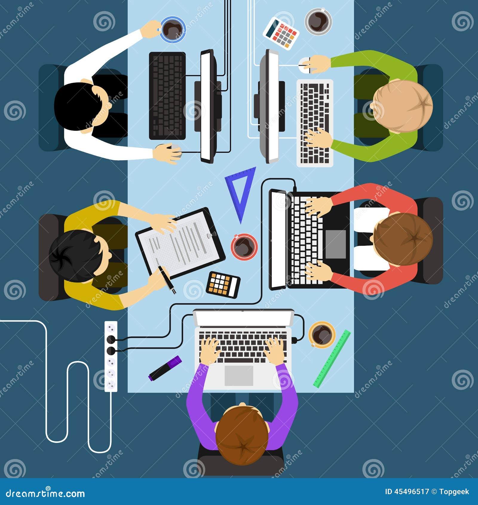 办公室工作者业务管理会议
