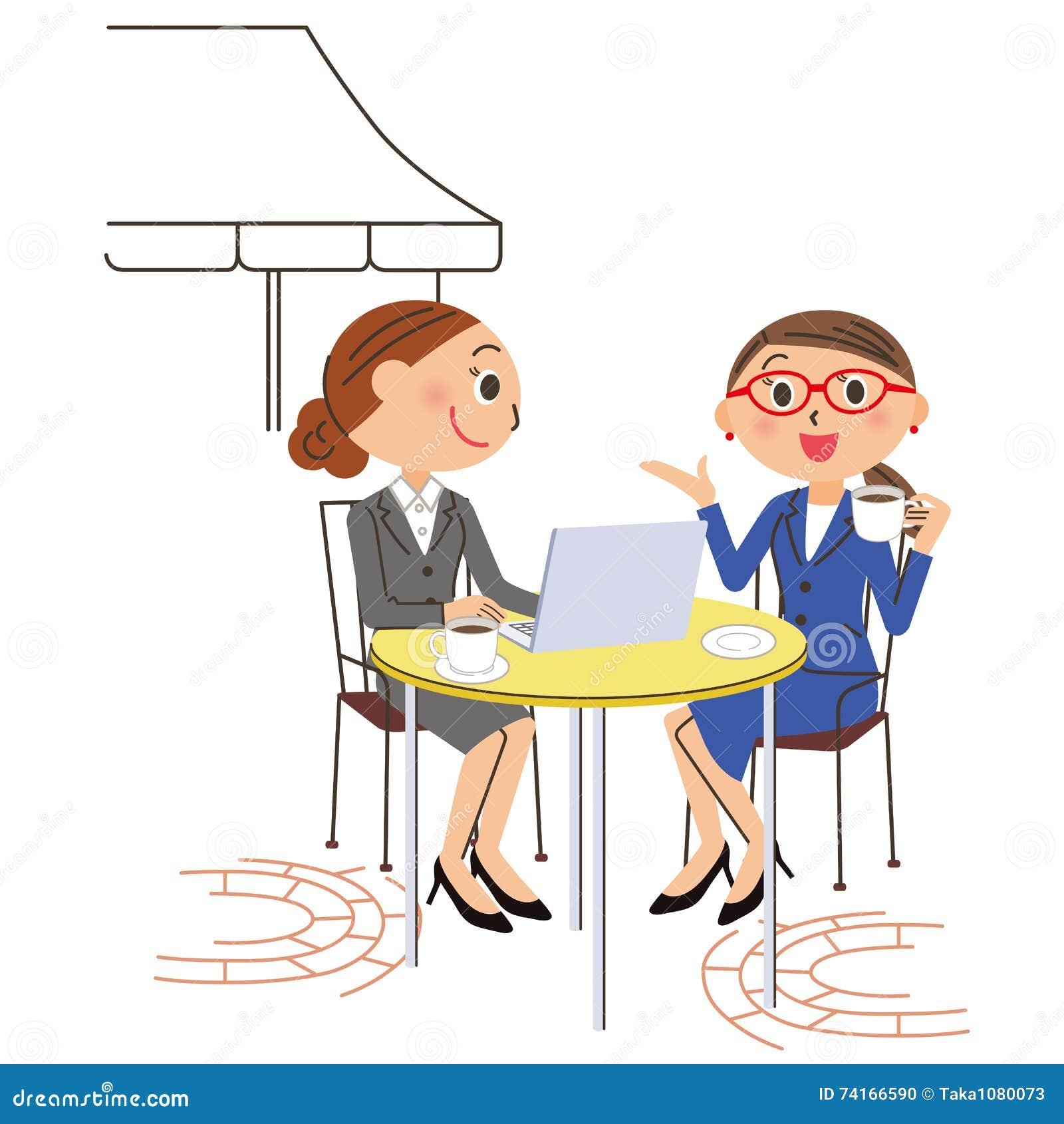 办公室工作者咖啡馆个人计算机