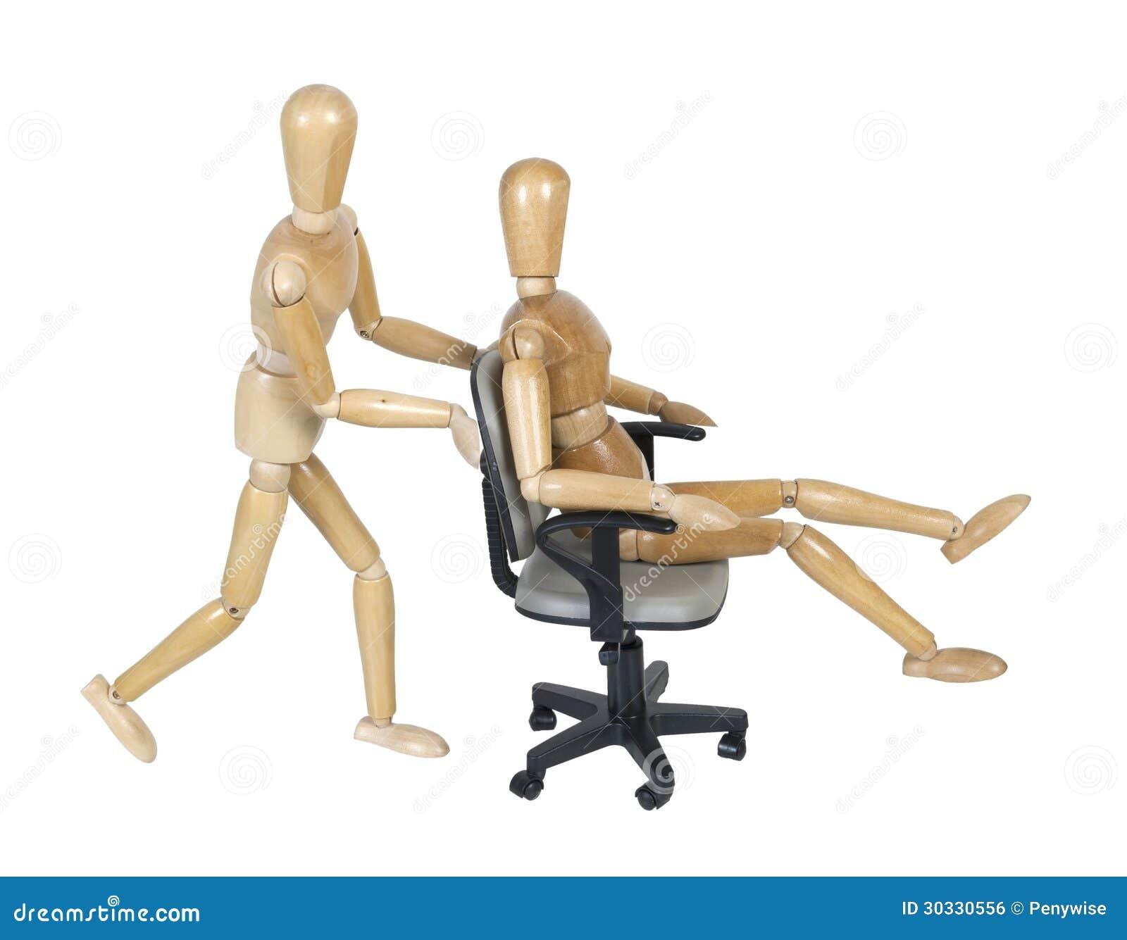 办公室椅子种族