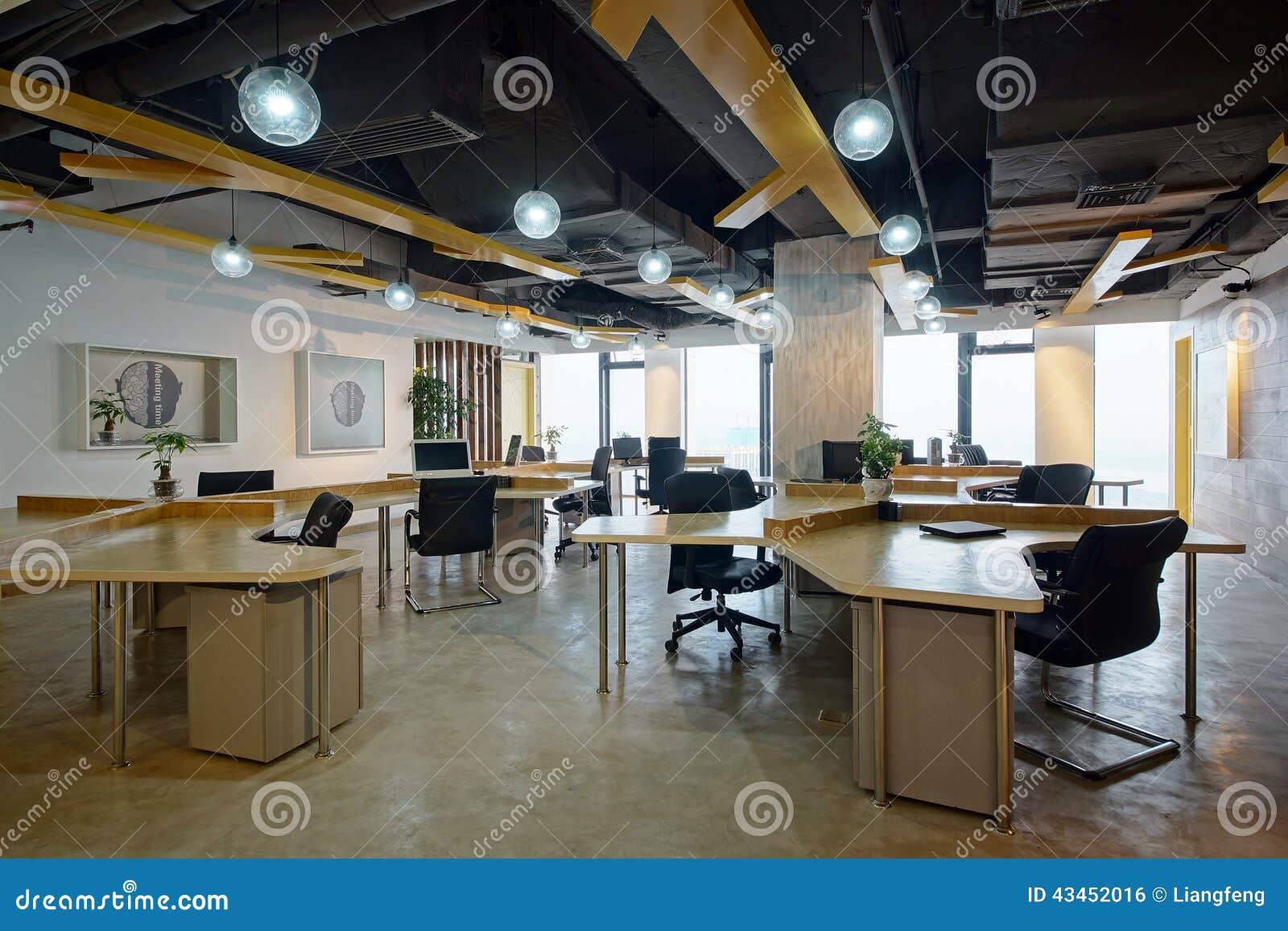 干净和舒适的办公室空间可能改进图象.图片