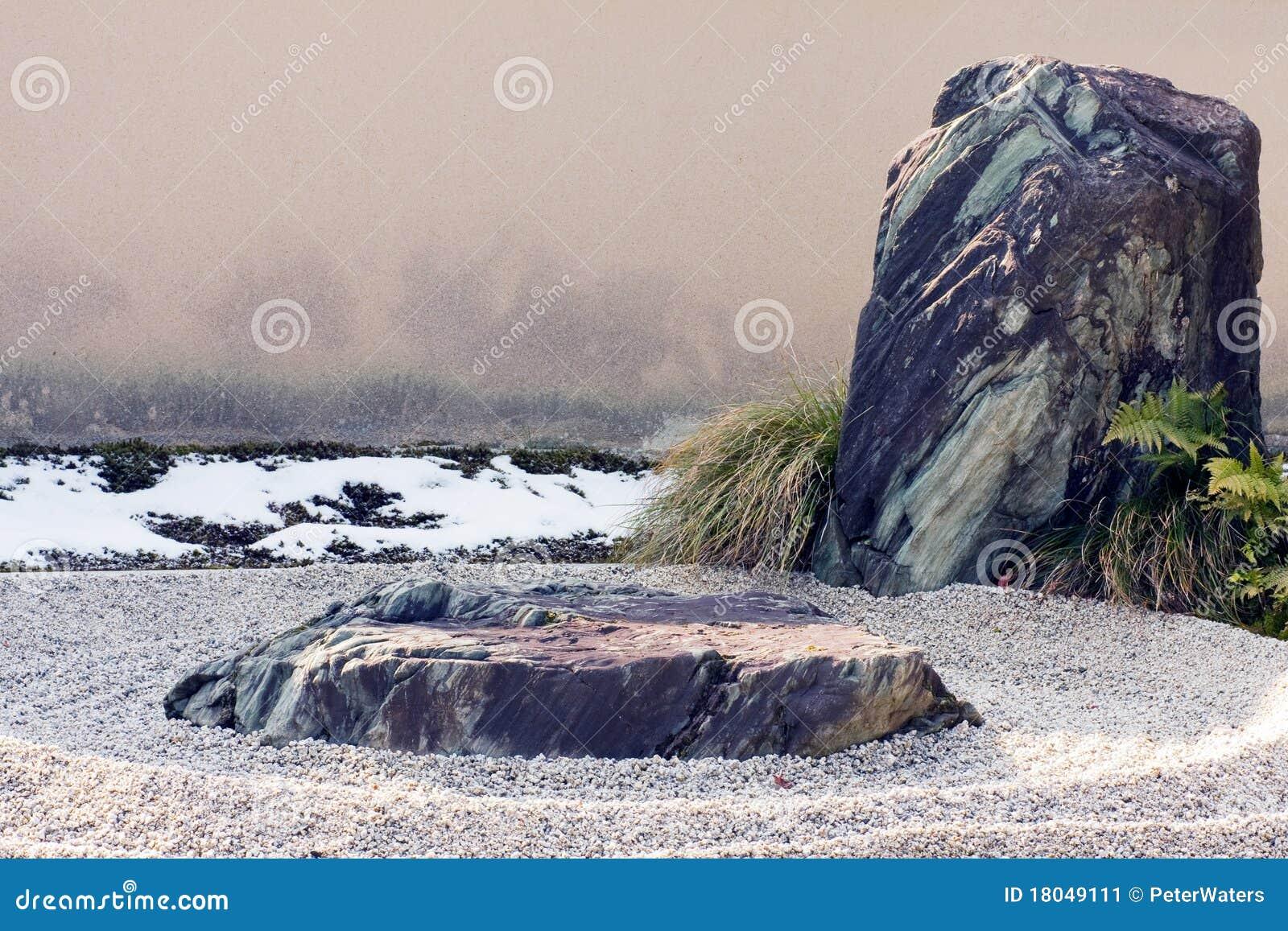 功能石渣横向倾斜了岩石禅宗