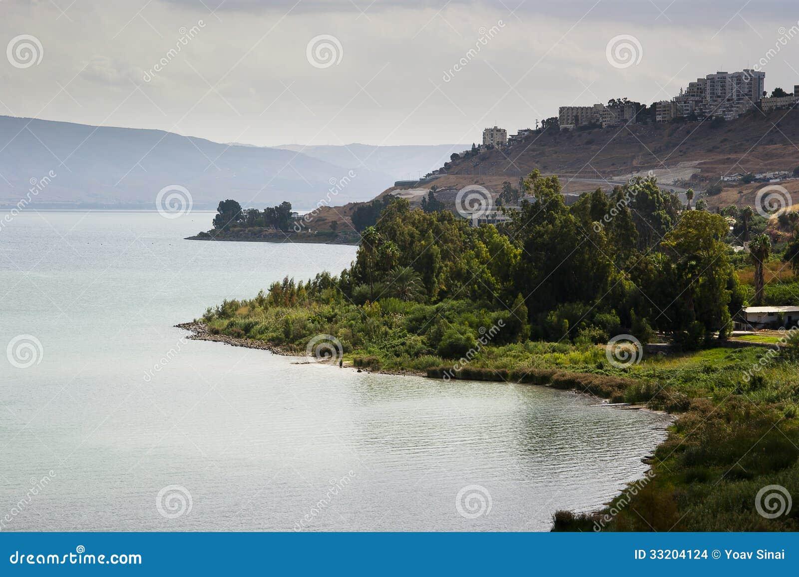 加利利湖视图
