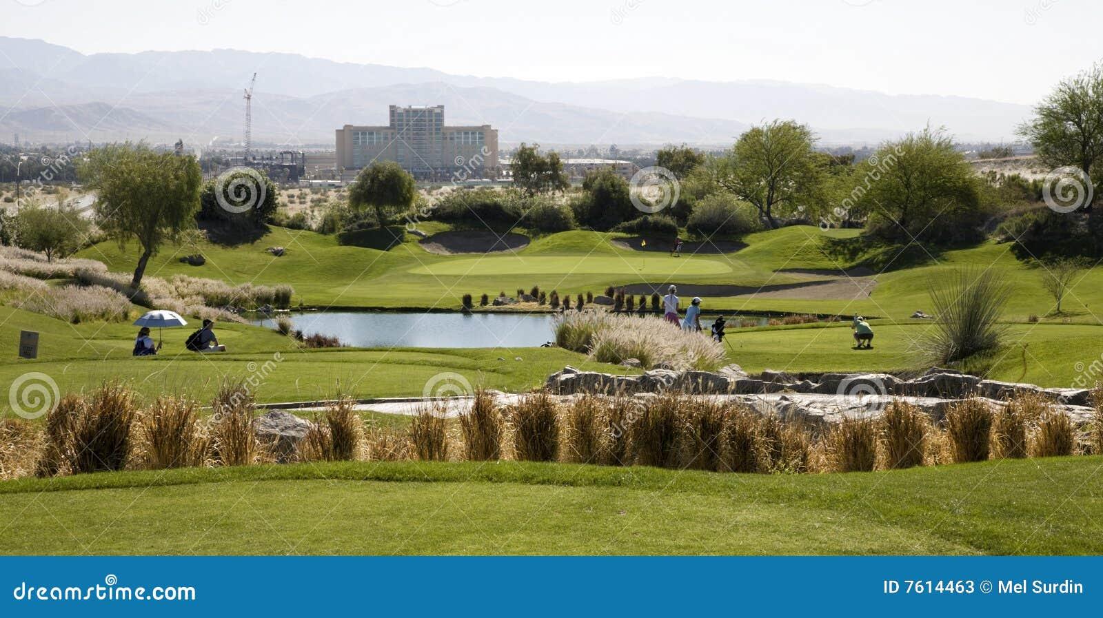 加利球员签名高尔夫球场