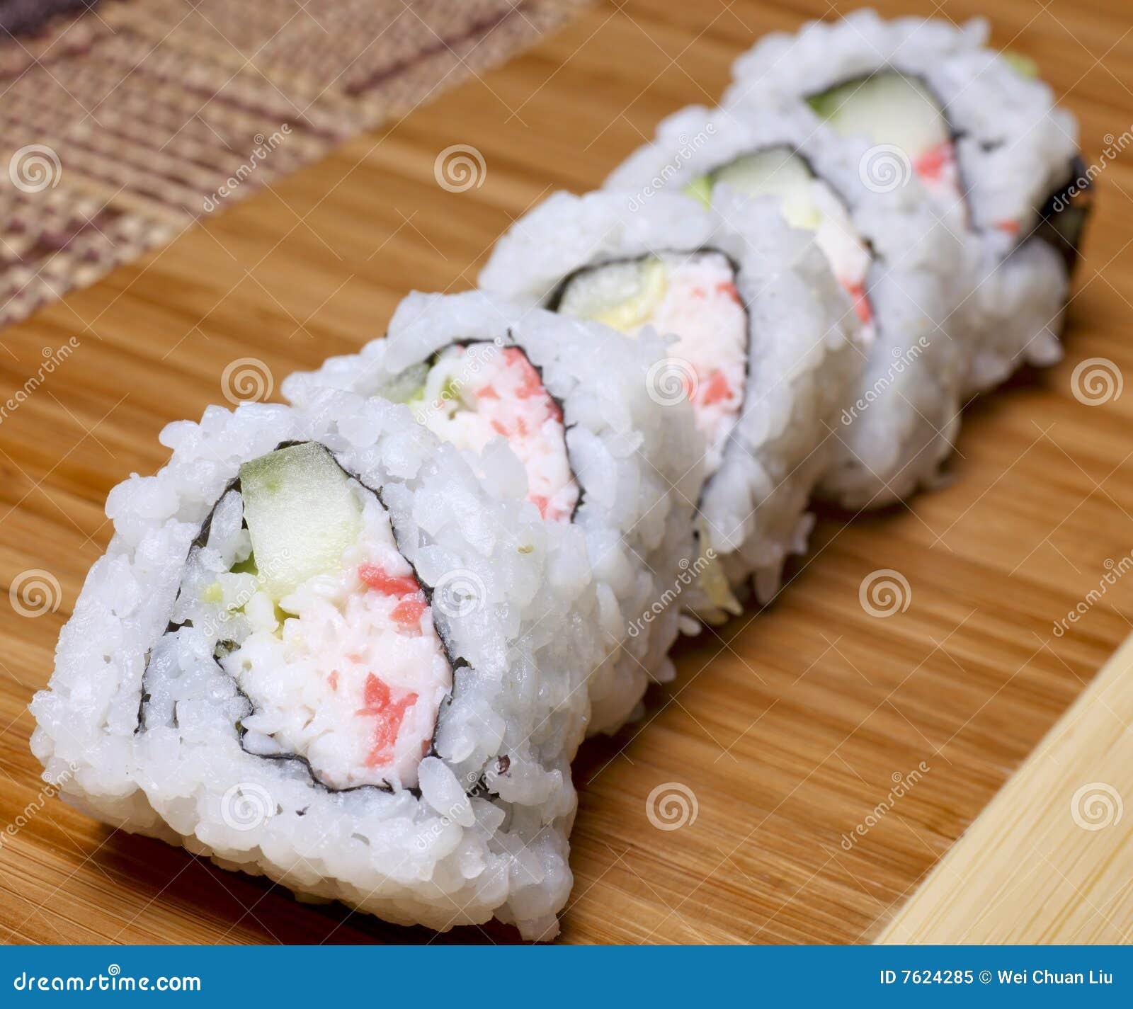 加利福尼亚卷寿司