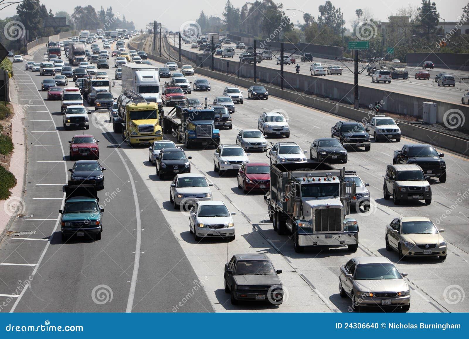 加利福尼亚高速公路帕萨迪纳业务量