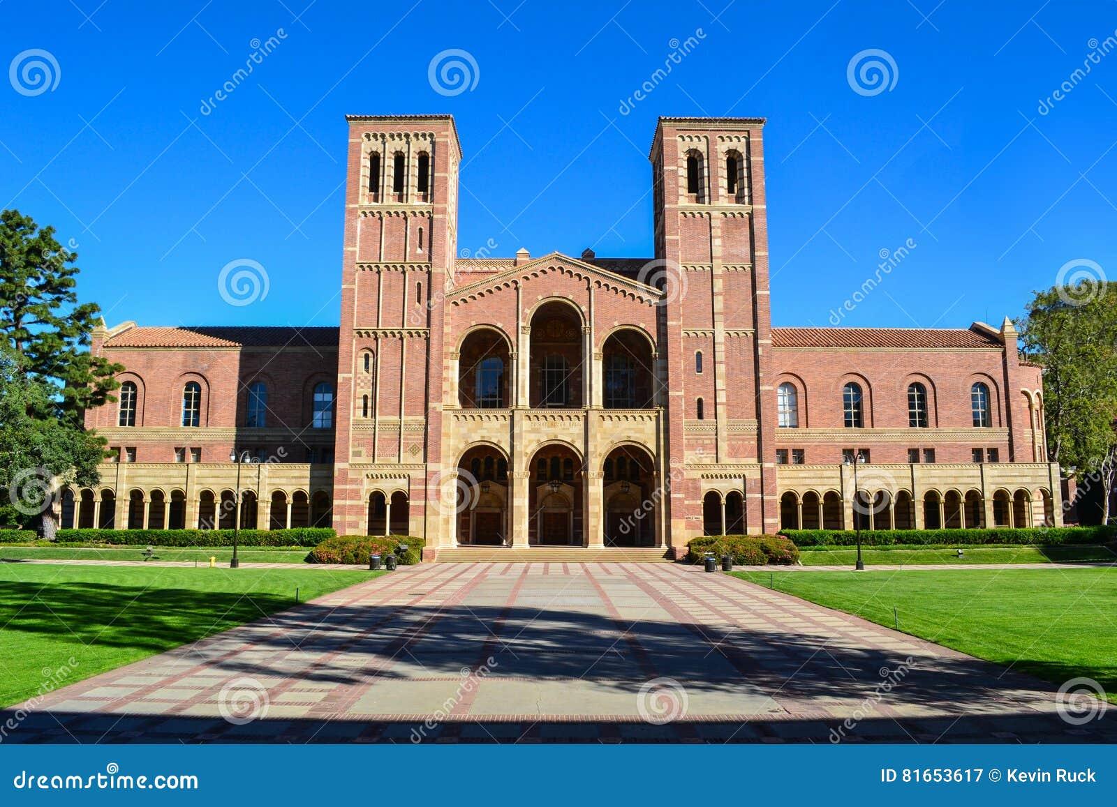 加州大学洛杉矶分校罗伊斯霍尔学院校园