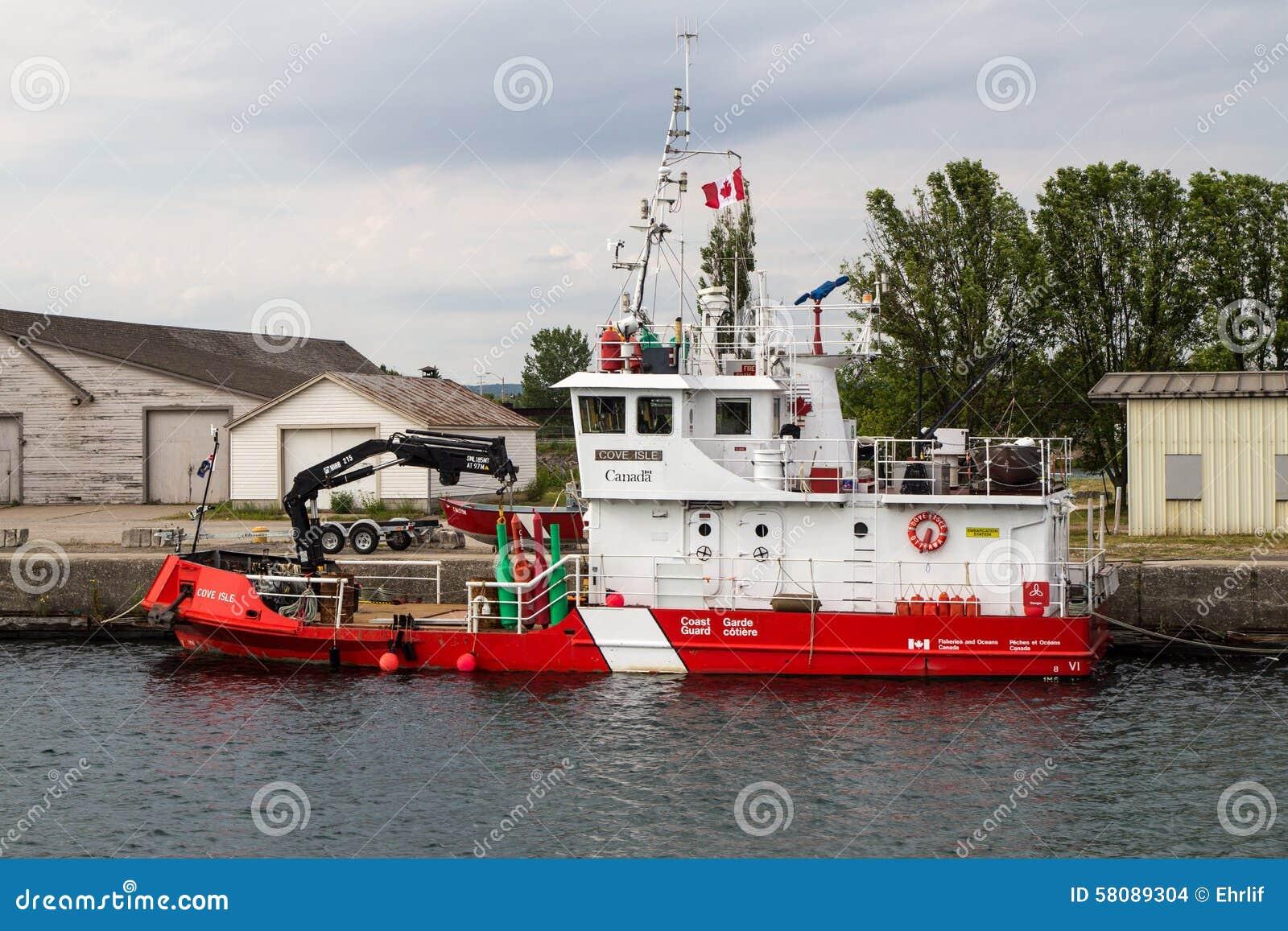 加拿大人海岸卫队船