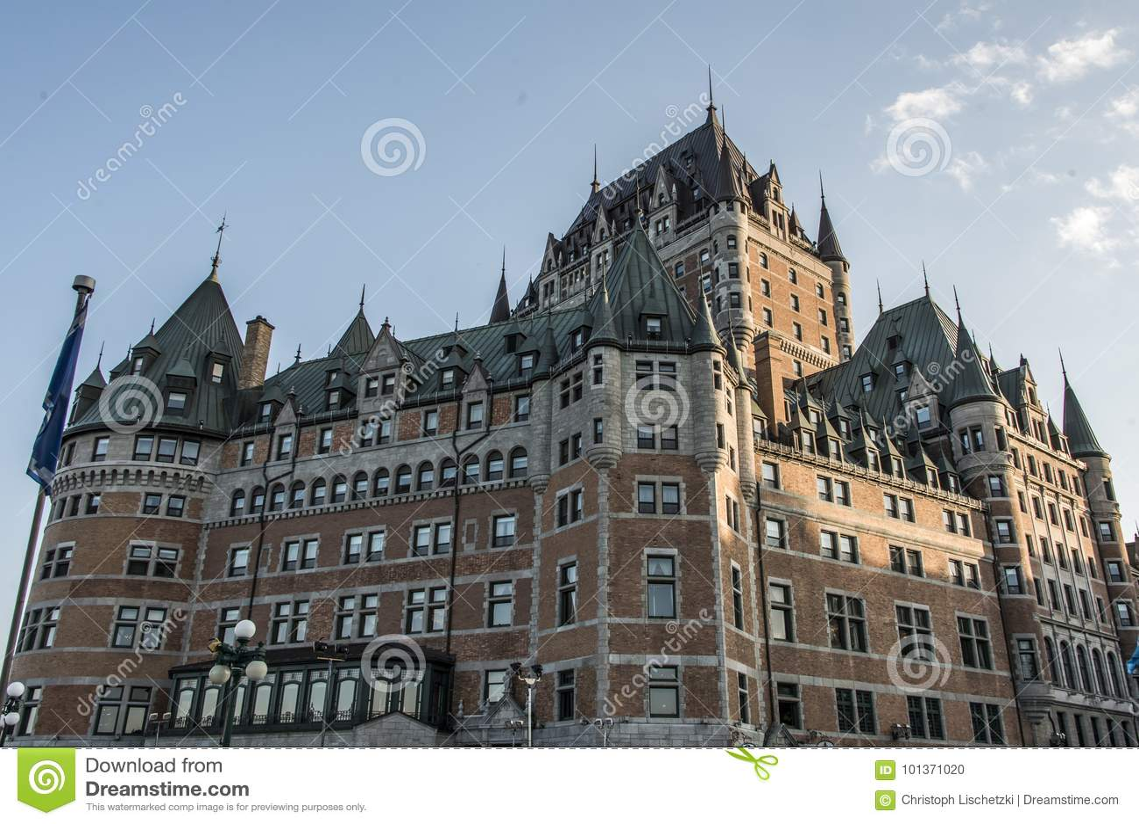 加拿大魁北克市日落大别墅Frontenac多数著名旅游胜地联合国科教文组织世界遗产名录站点