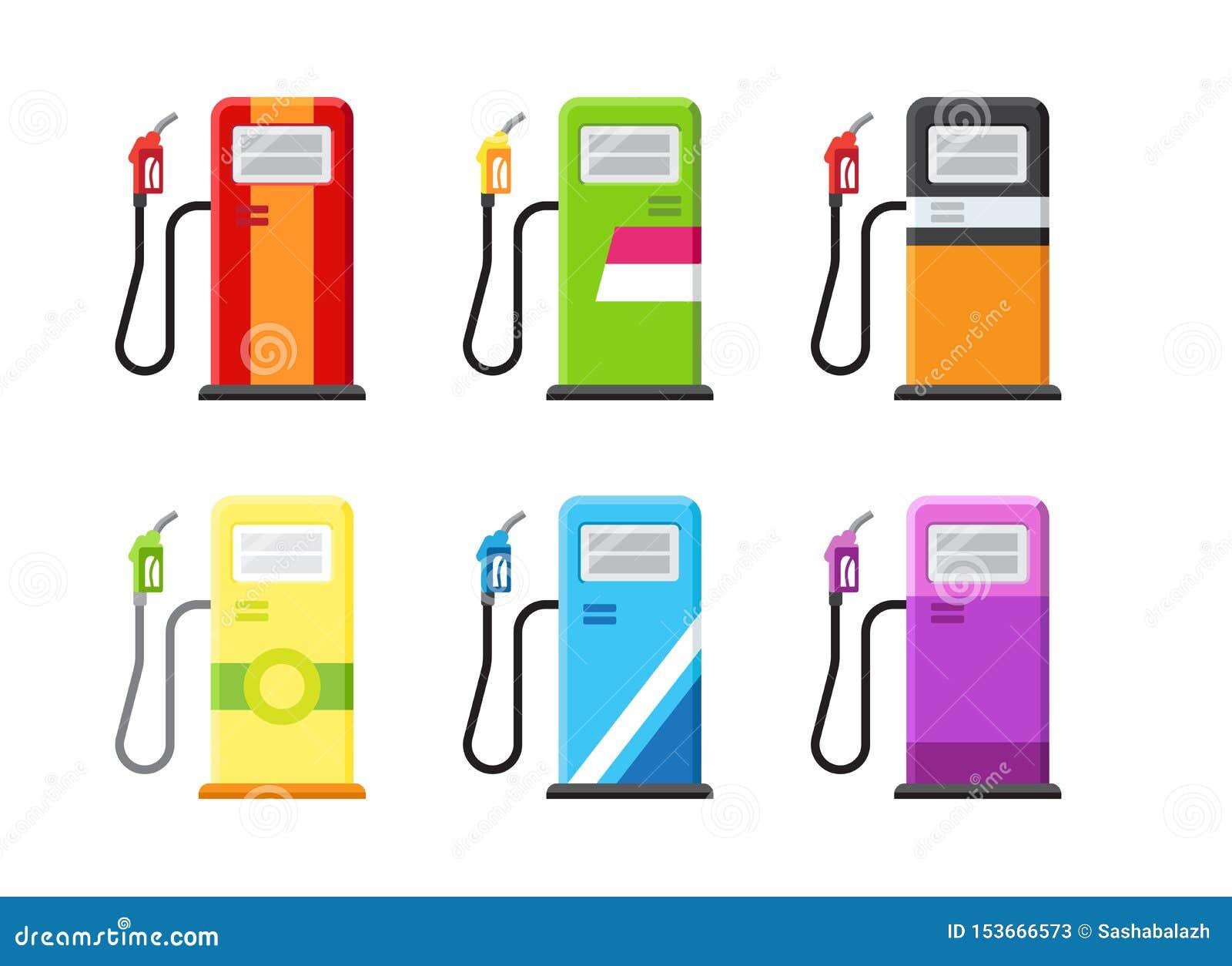 加油站设置用不同的品牌