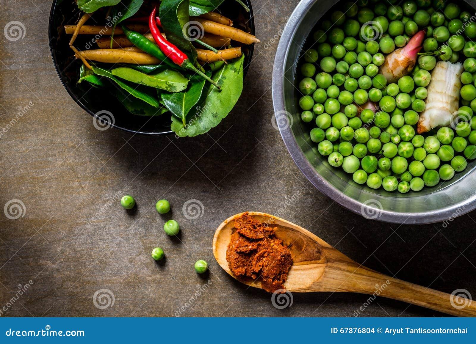 加香料蔬菜