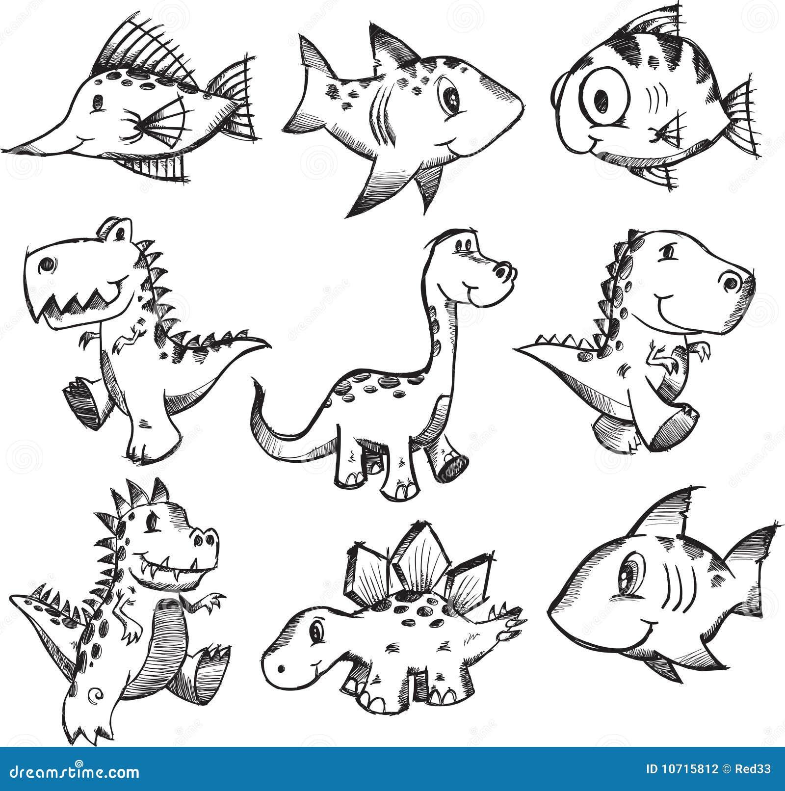 动物乱画集合概略