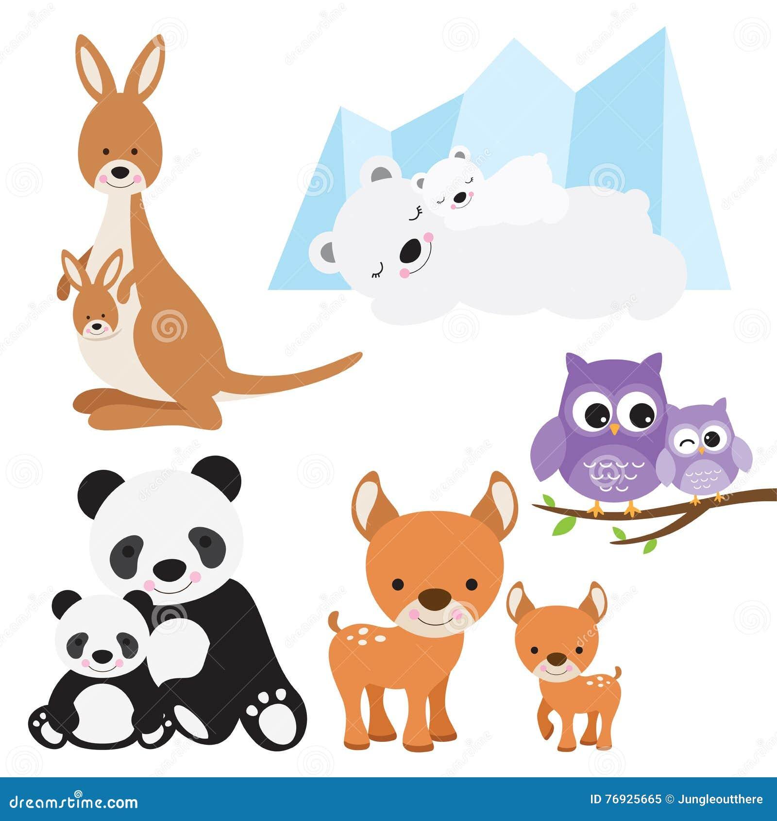 动物和婴孩