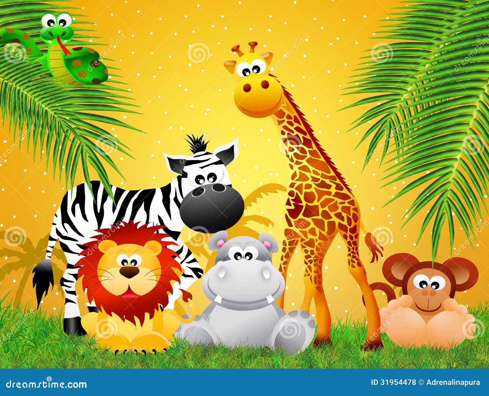 动物园动物动画片