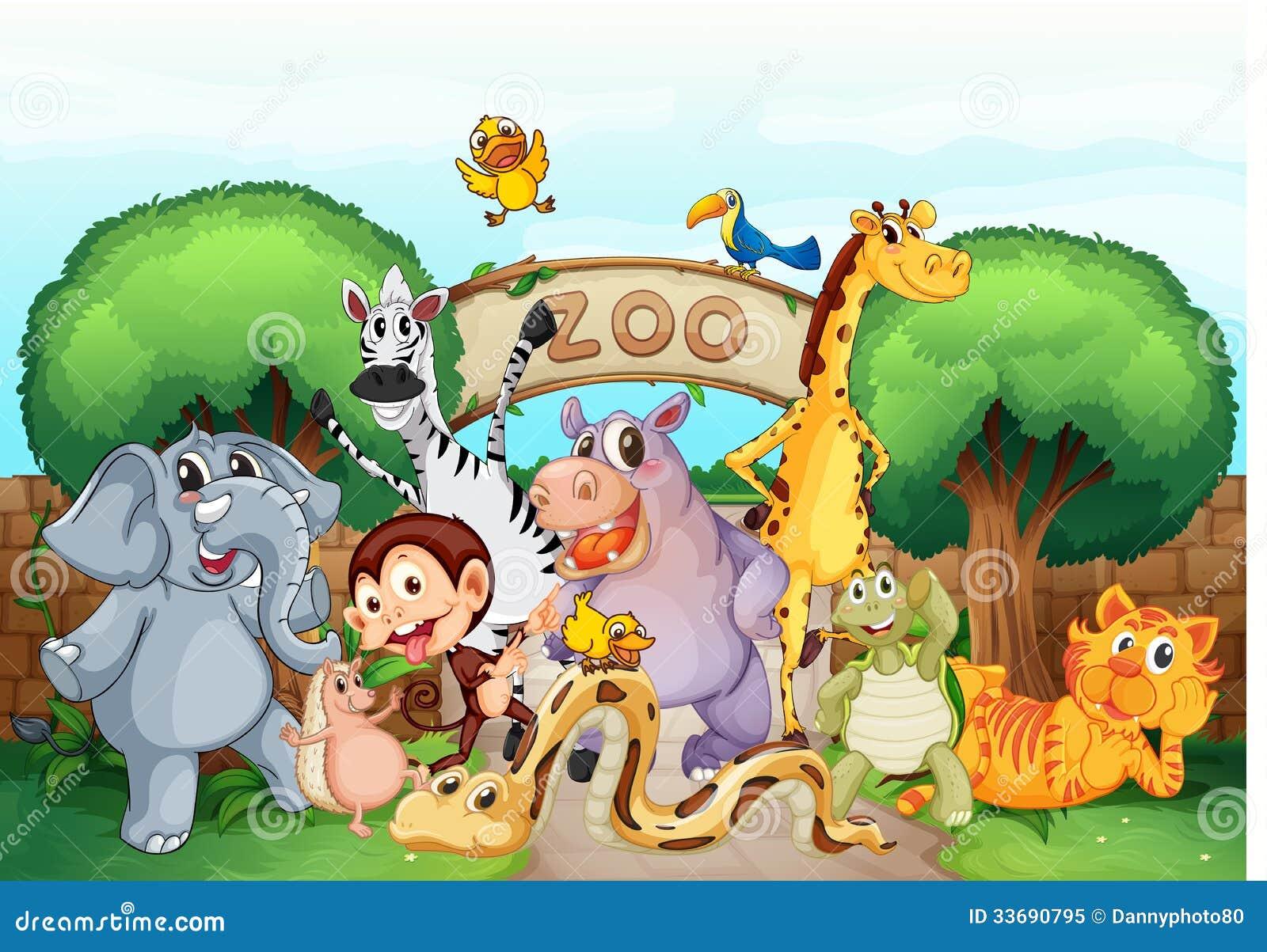 动物园和动物