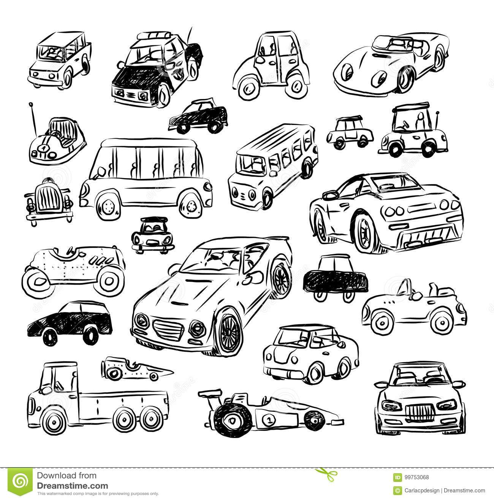 动画片汽车,传染媒介例证 投反对票
