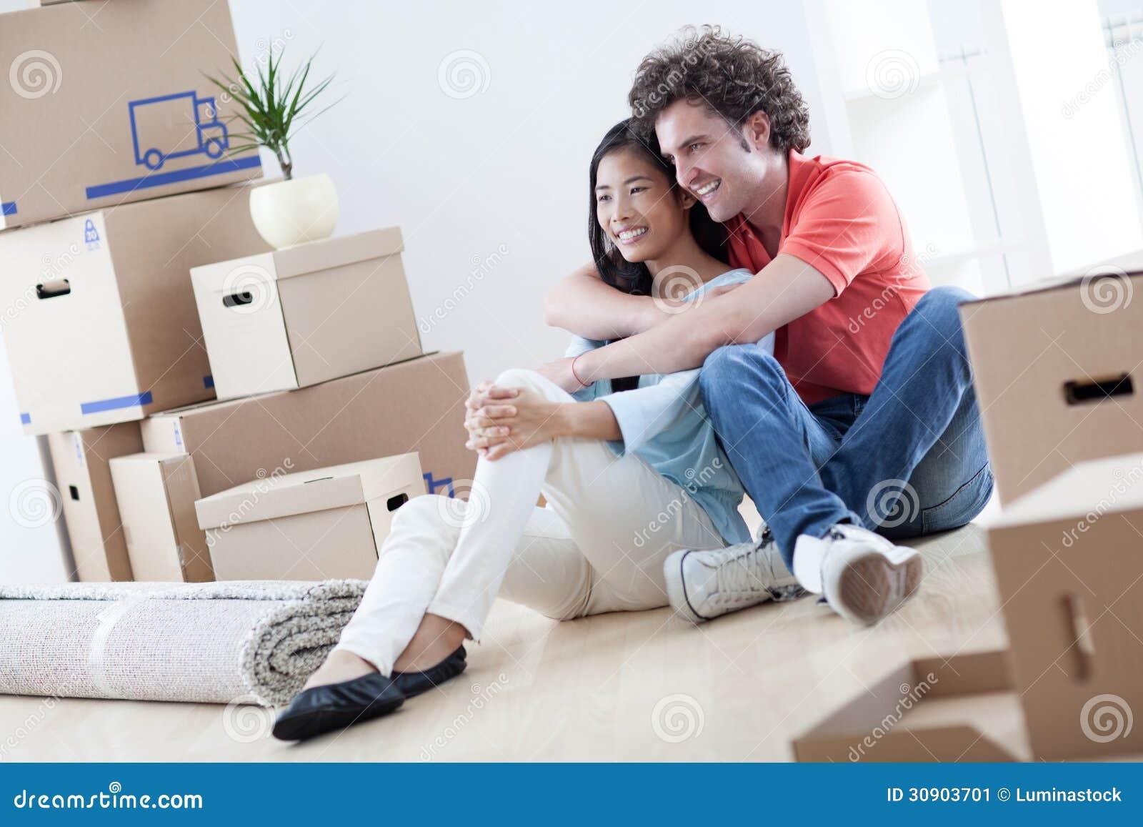 移动的夫妇