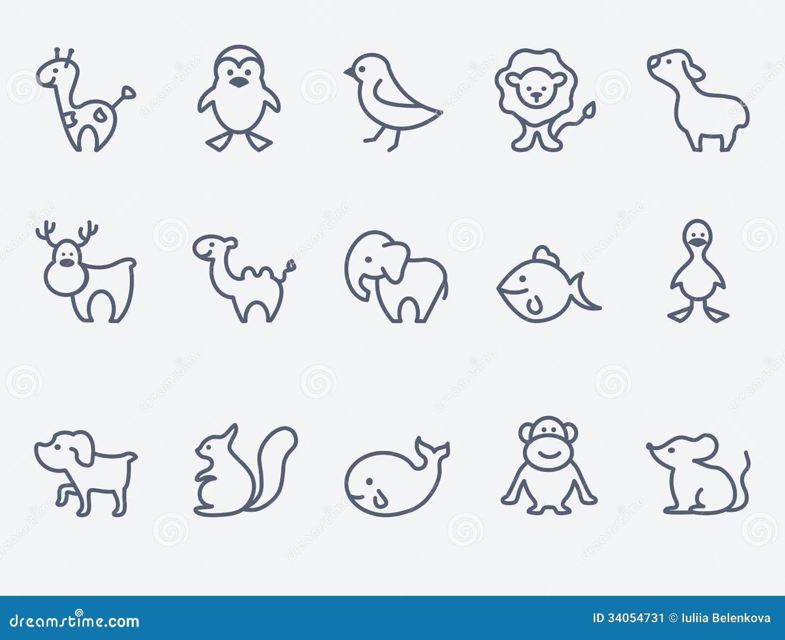 动画片动物象
