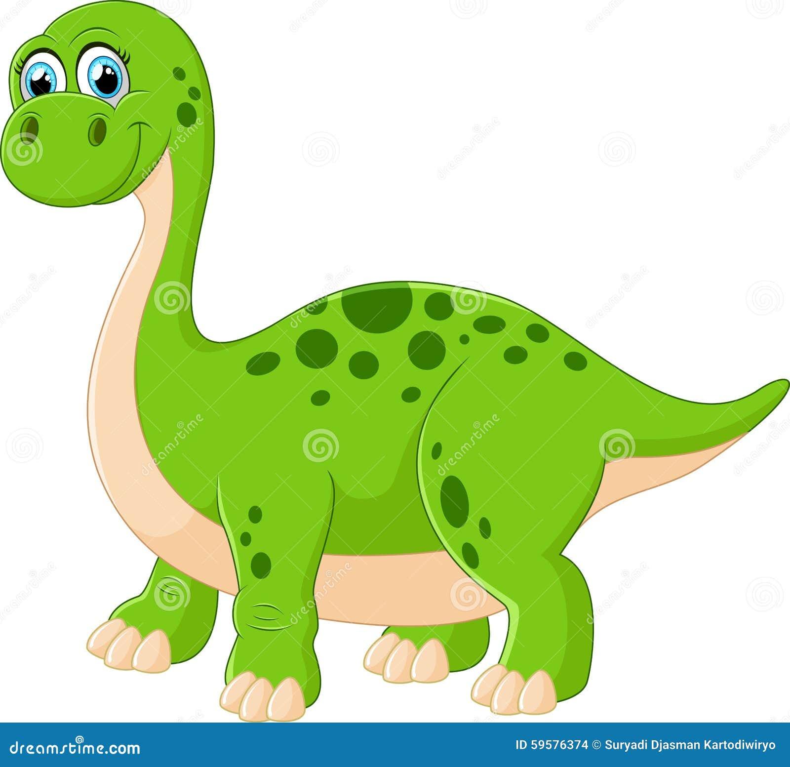 动画片可爱的恐龙的例证.图片