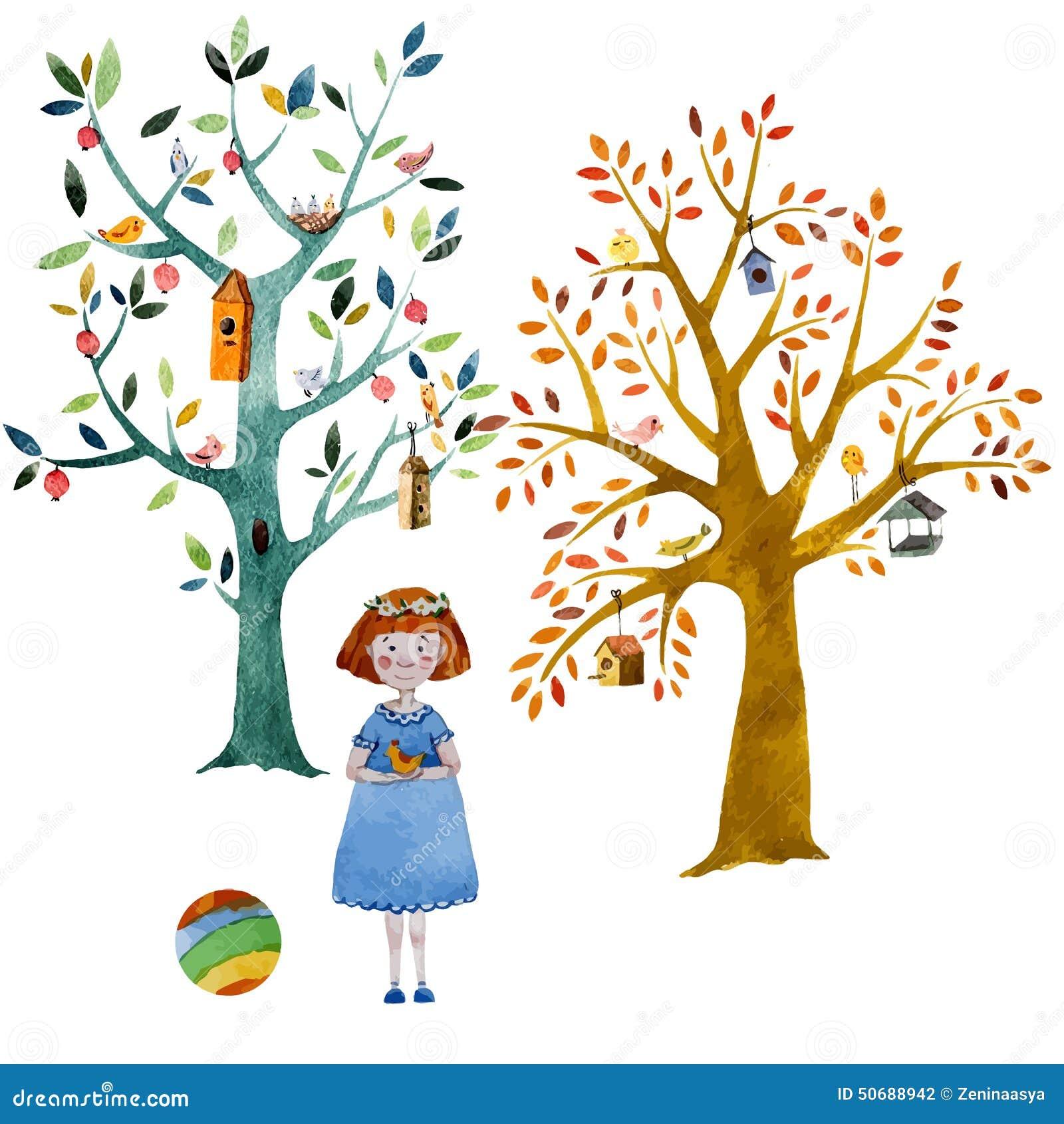 Download 动画片森林 向量例证. 插画 包括有 任意, 春天, 装饰, 空间, 样式, 结构树, 图象, 模式, 破擦声 - 50688942