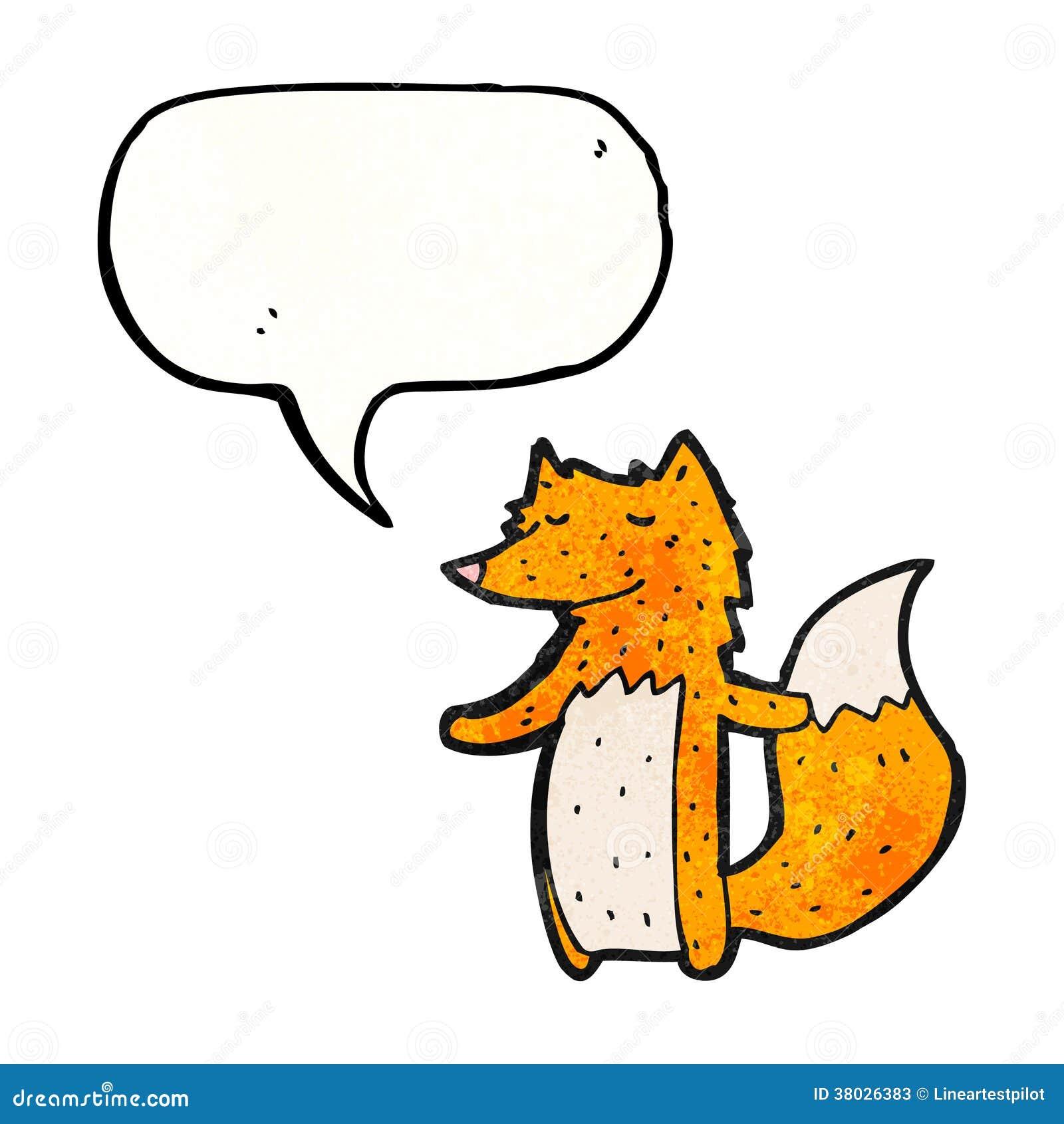 动画片狐狸