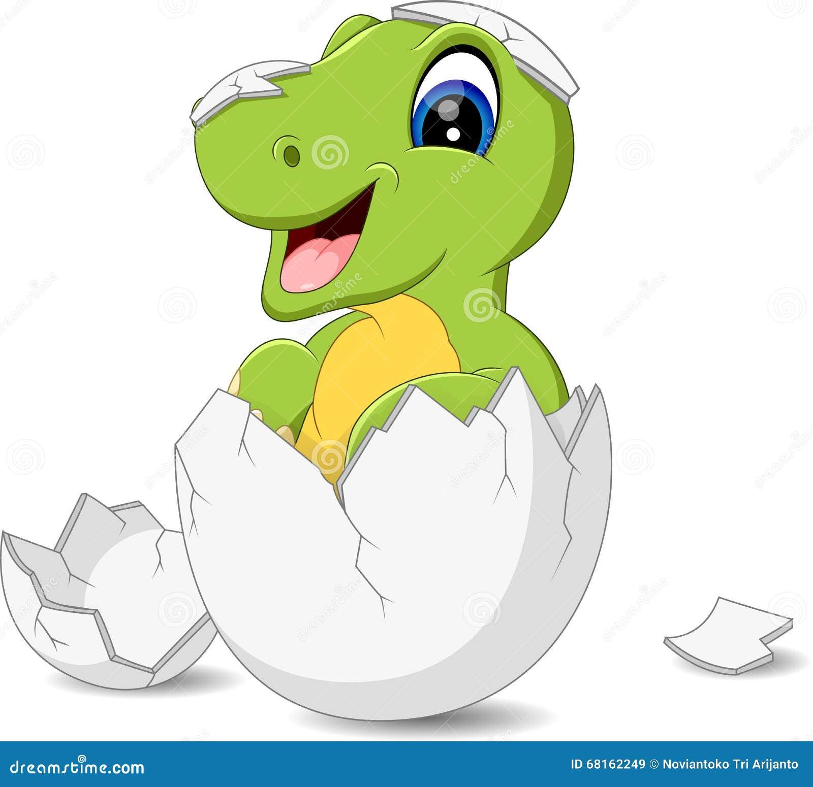 逗人喜爱的恐龙动画片的例证.图片
