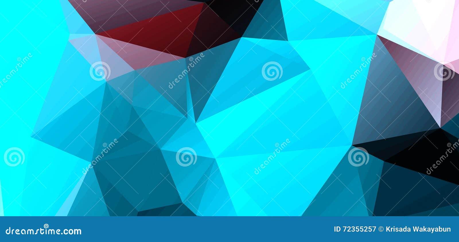 包括三角的抽象背景