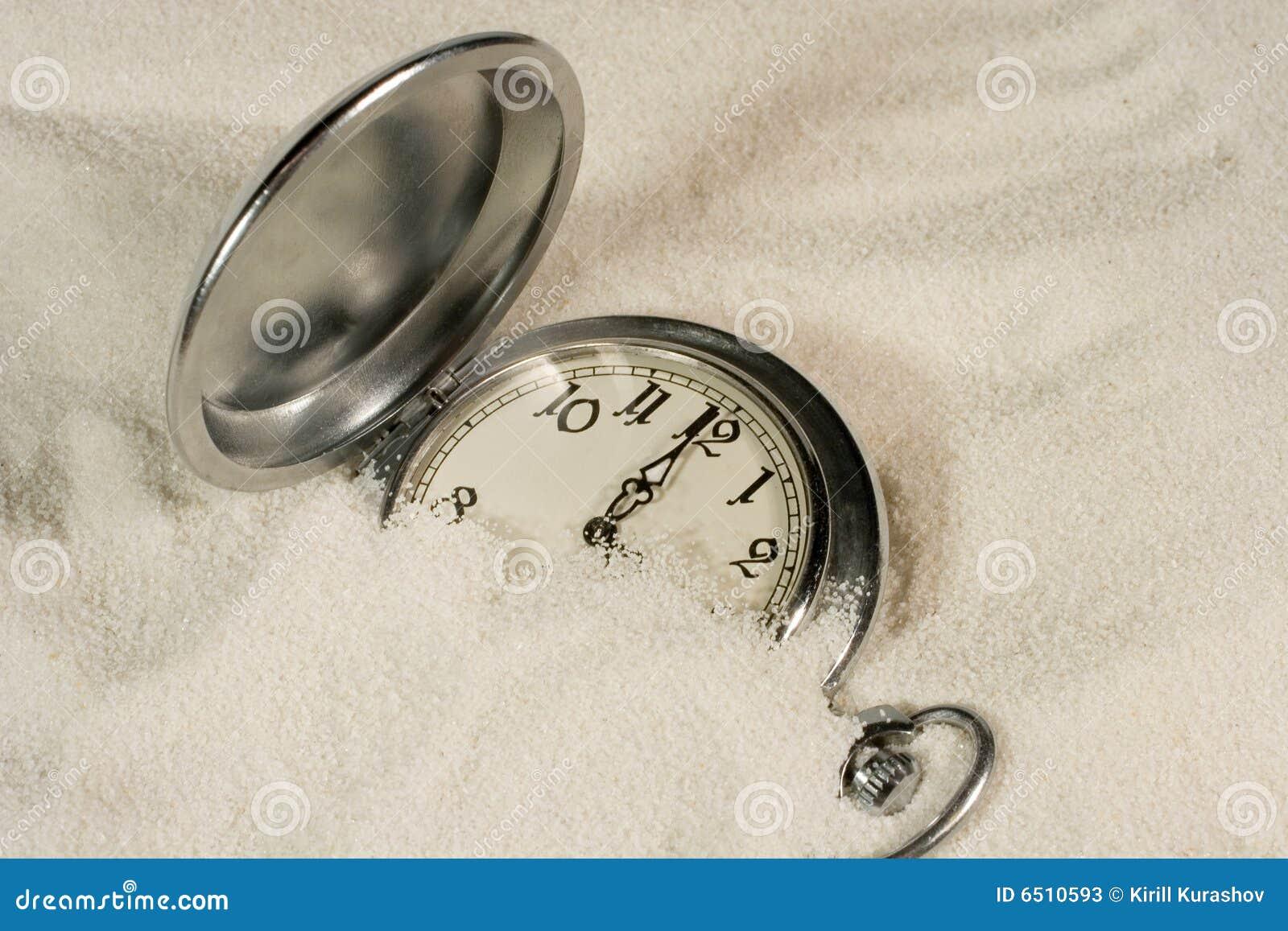 包括的沙子手表