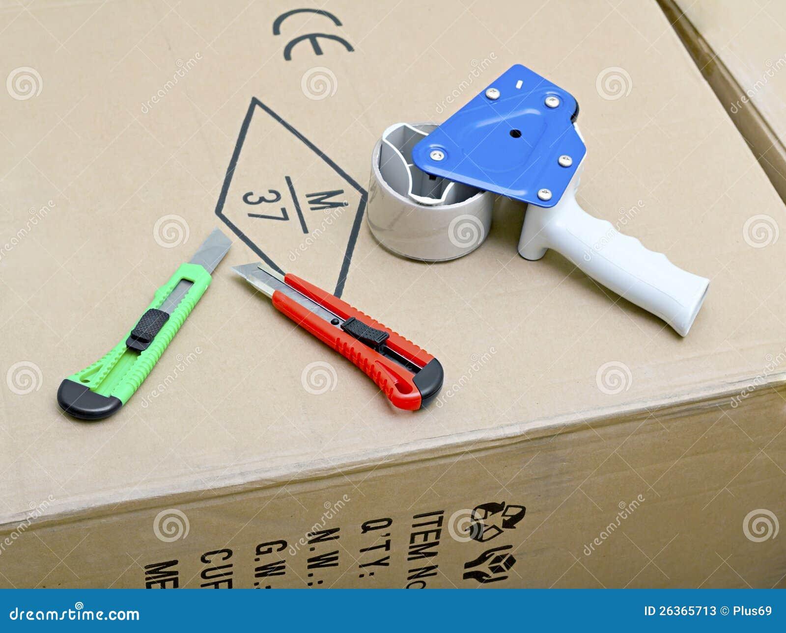 包装的磁带枪分配器