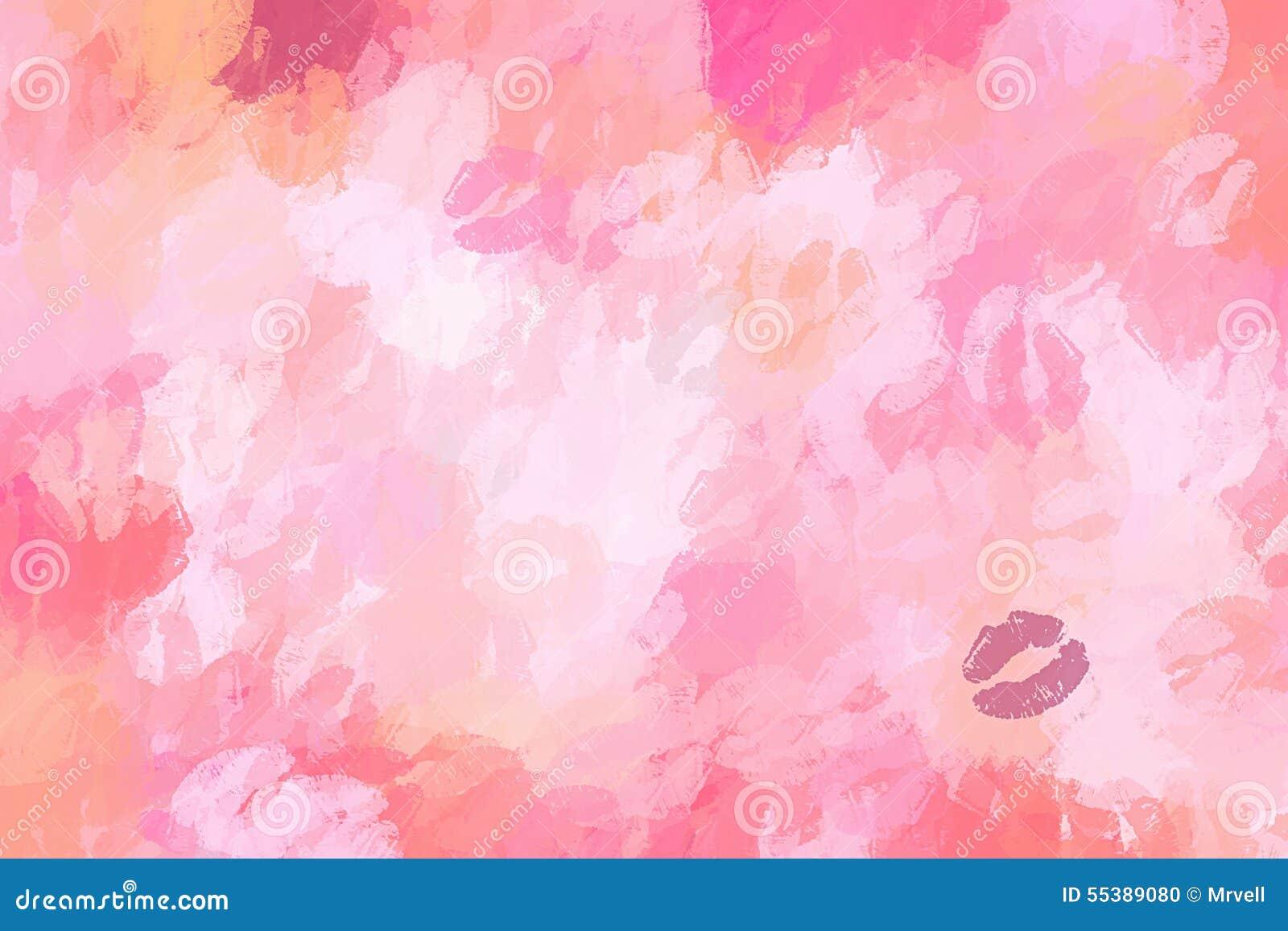 化妆桃红色嘴唇背景