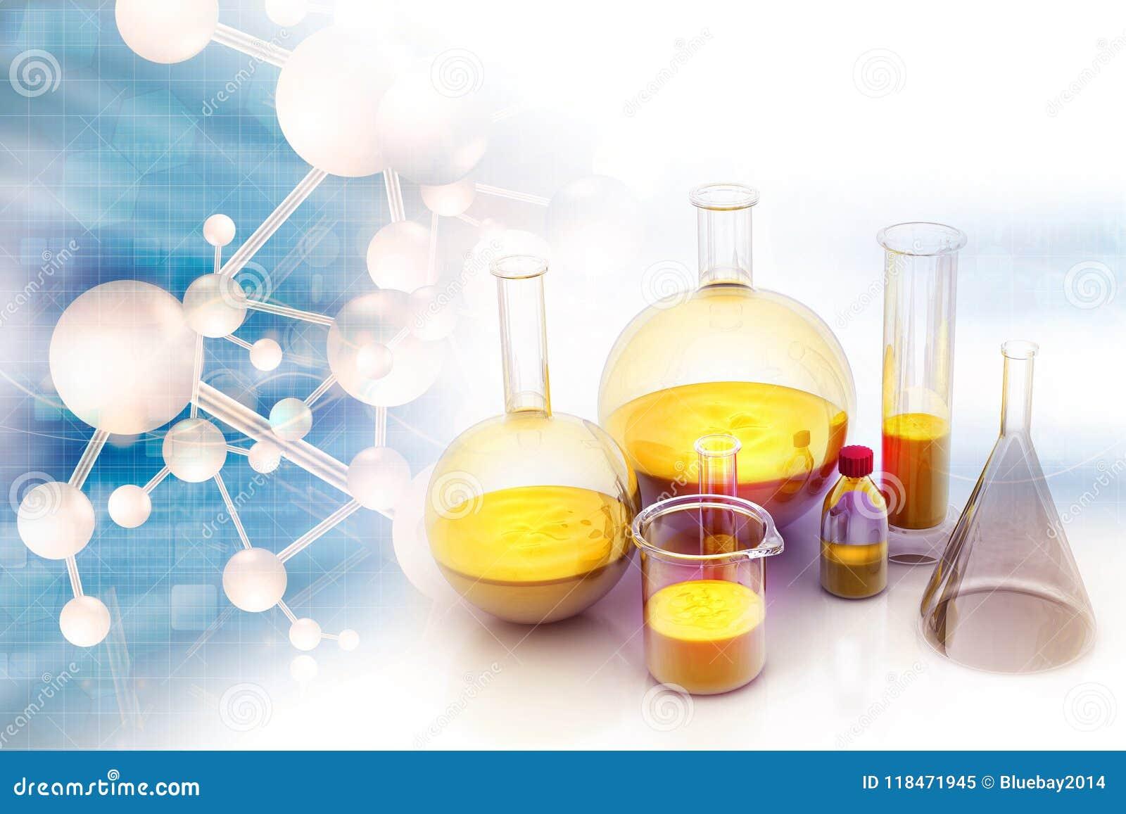 化学实验室概念