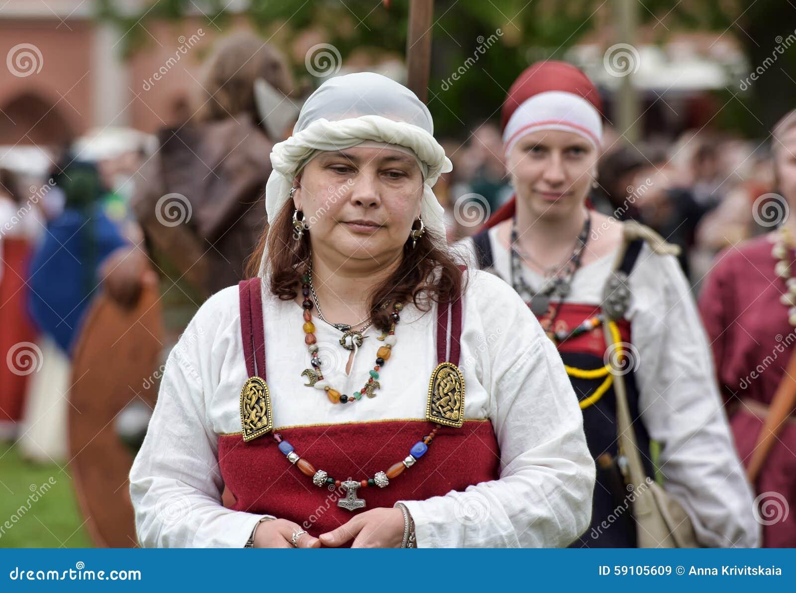 北欧海盗妇女