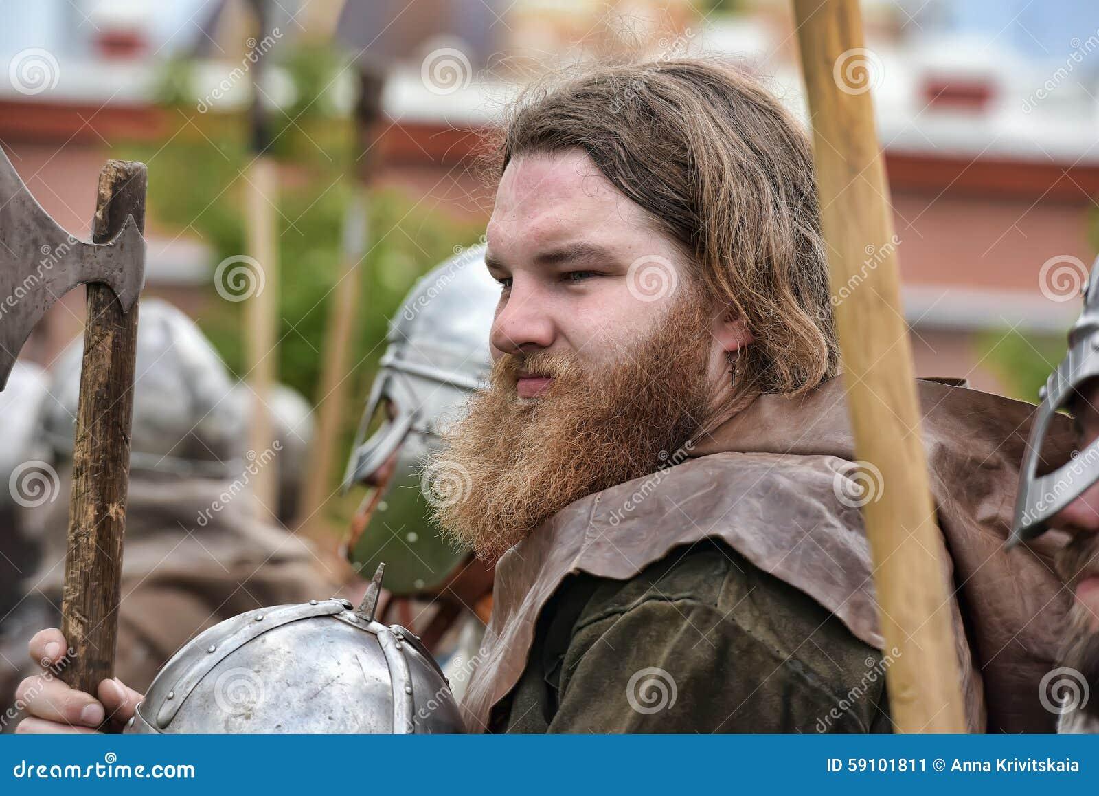 北欧海盗的画象