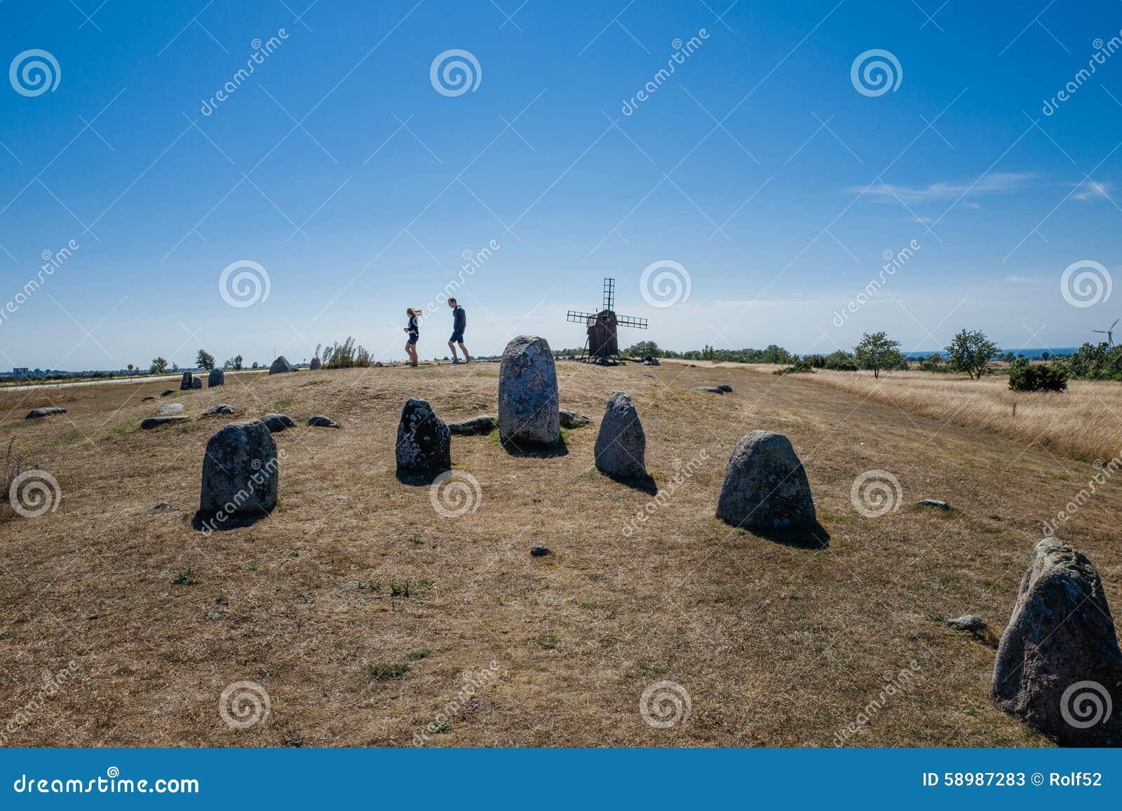 北欧铜器时代严重领域在瑞典