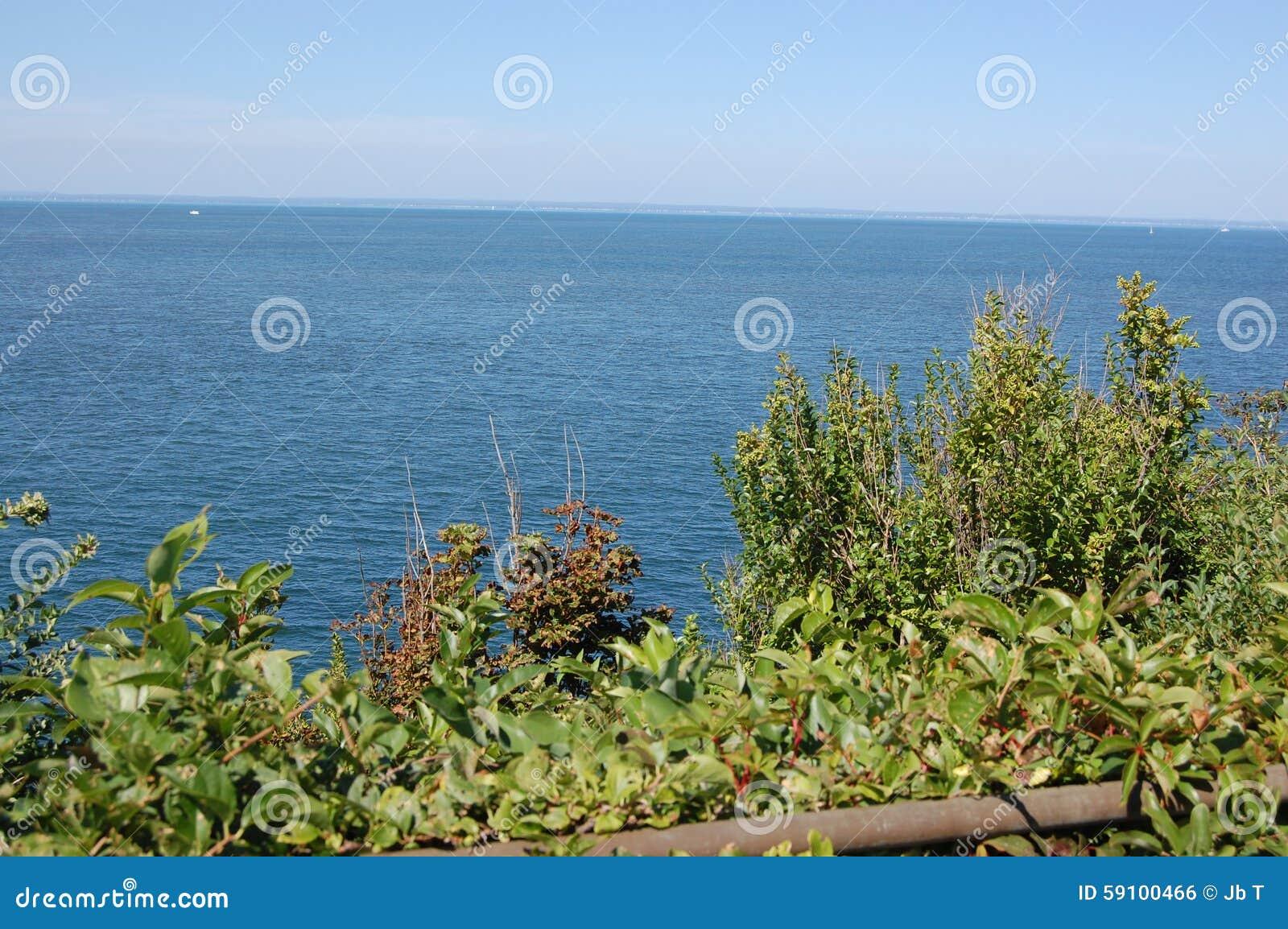北部岸水视图长岛海湾