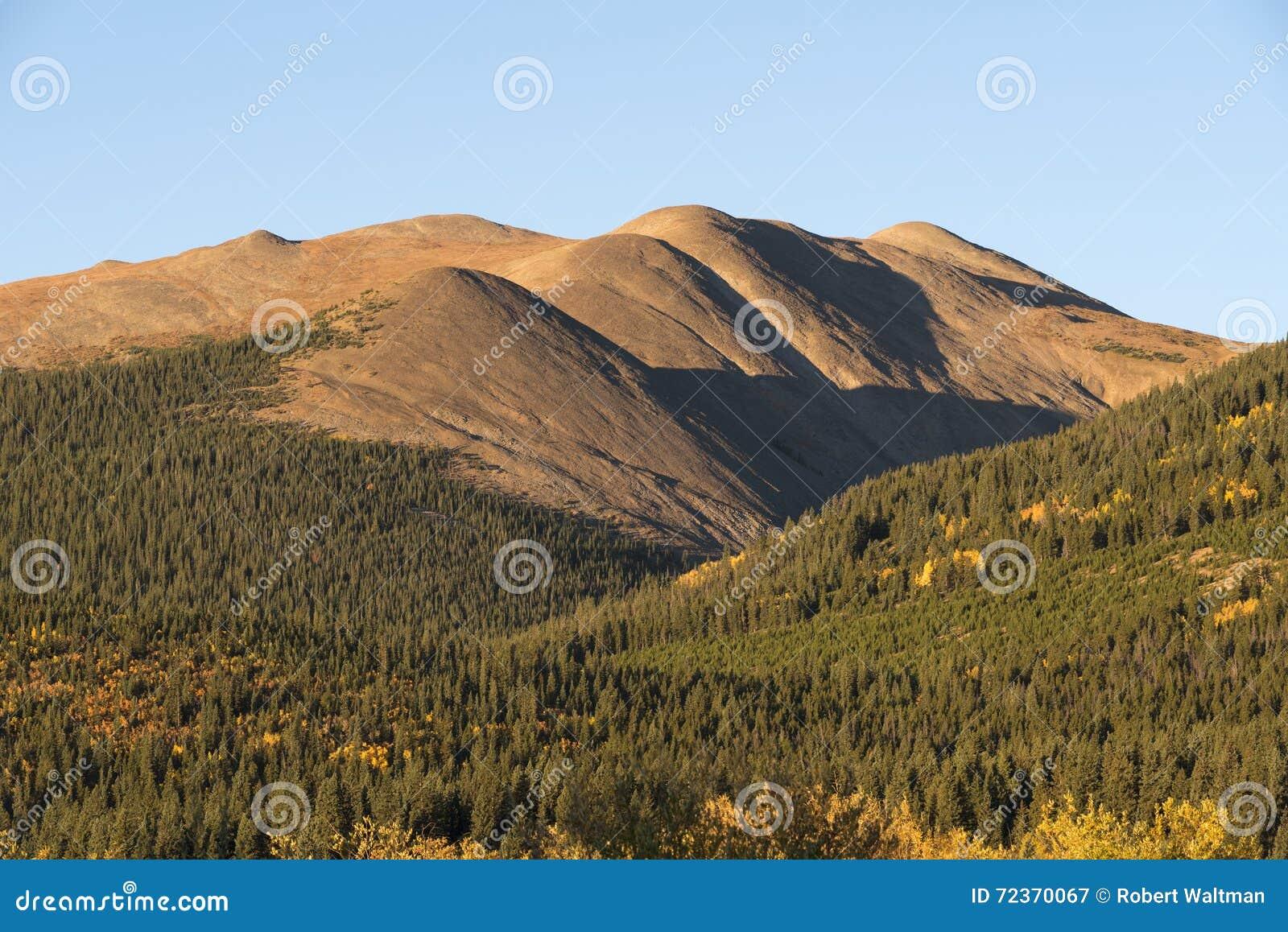 北风之山是13,082英尺在派克Natioanal森林