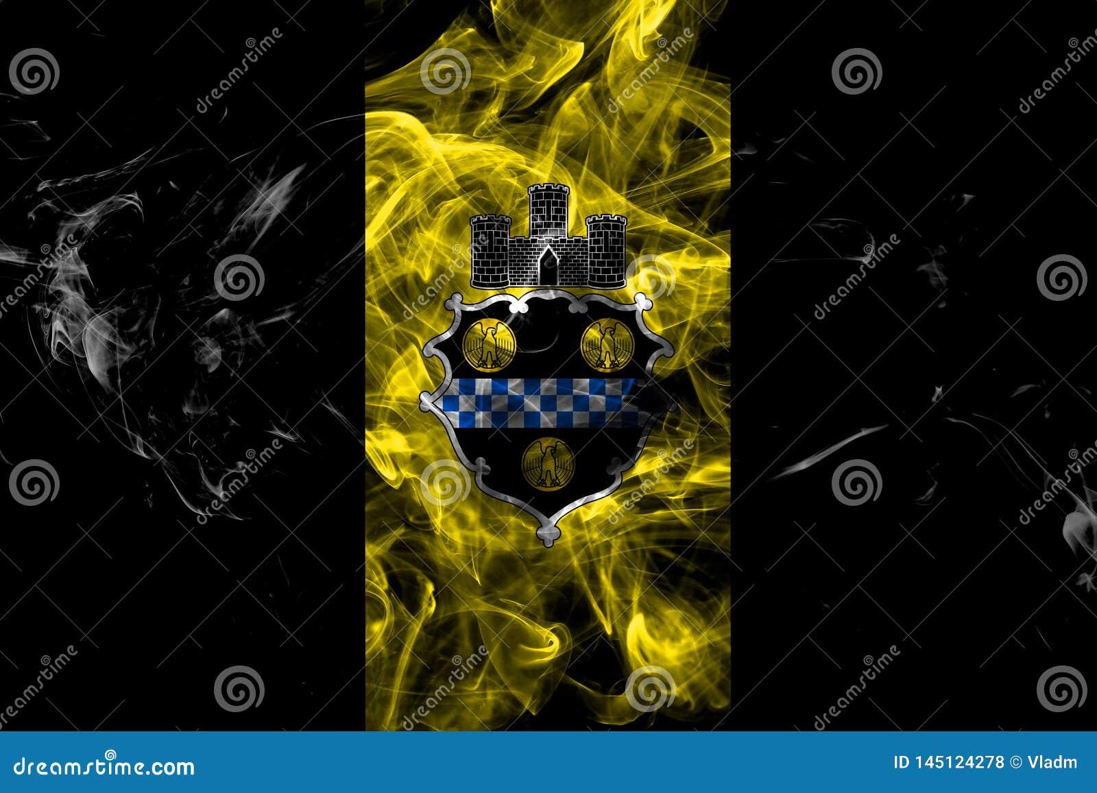 匹兹堡市烟旗子,宾夕法尼亚州,美国